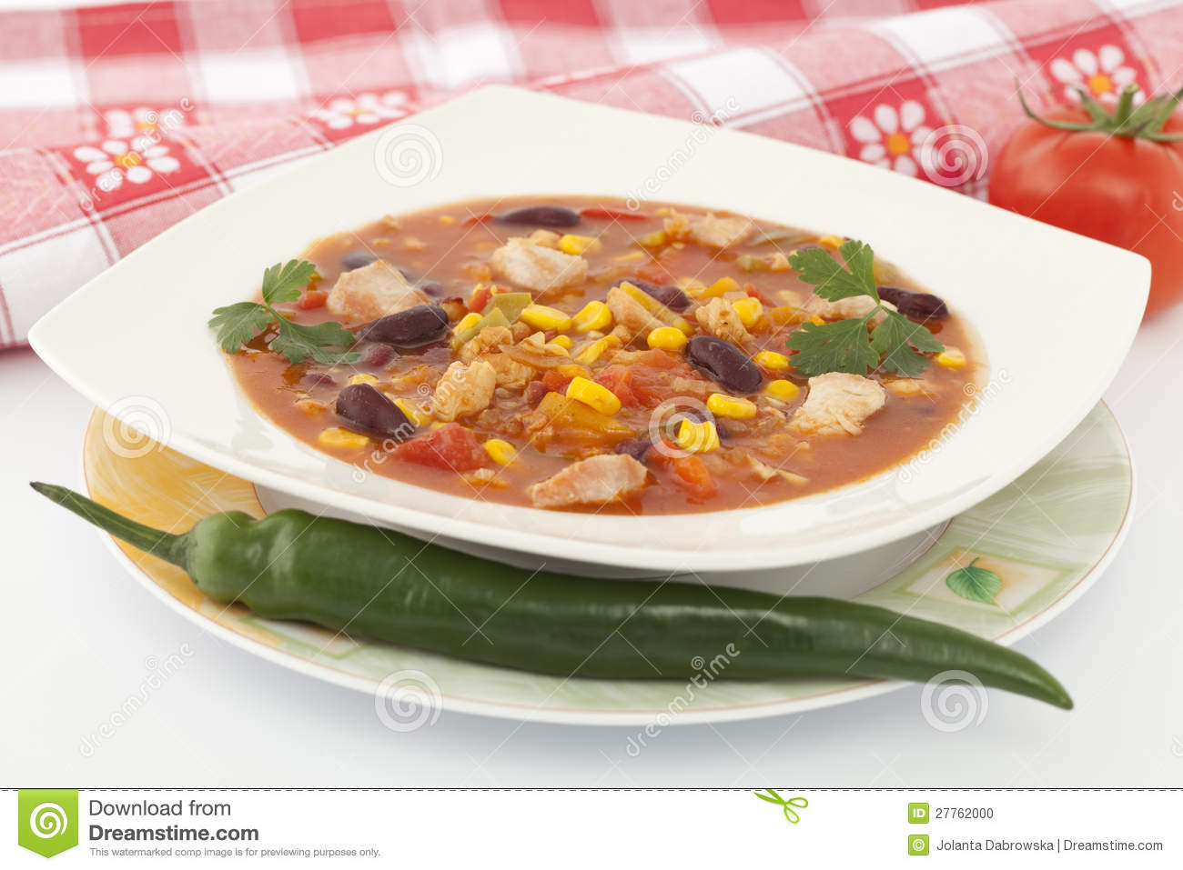 Potage mexicain