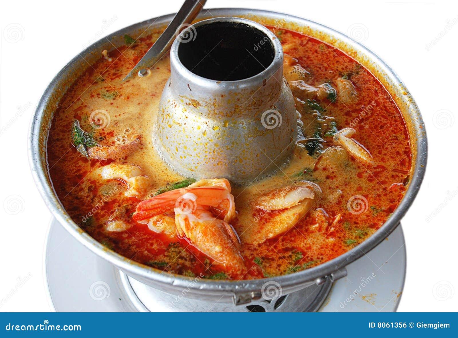 Potage thaï