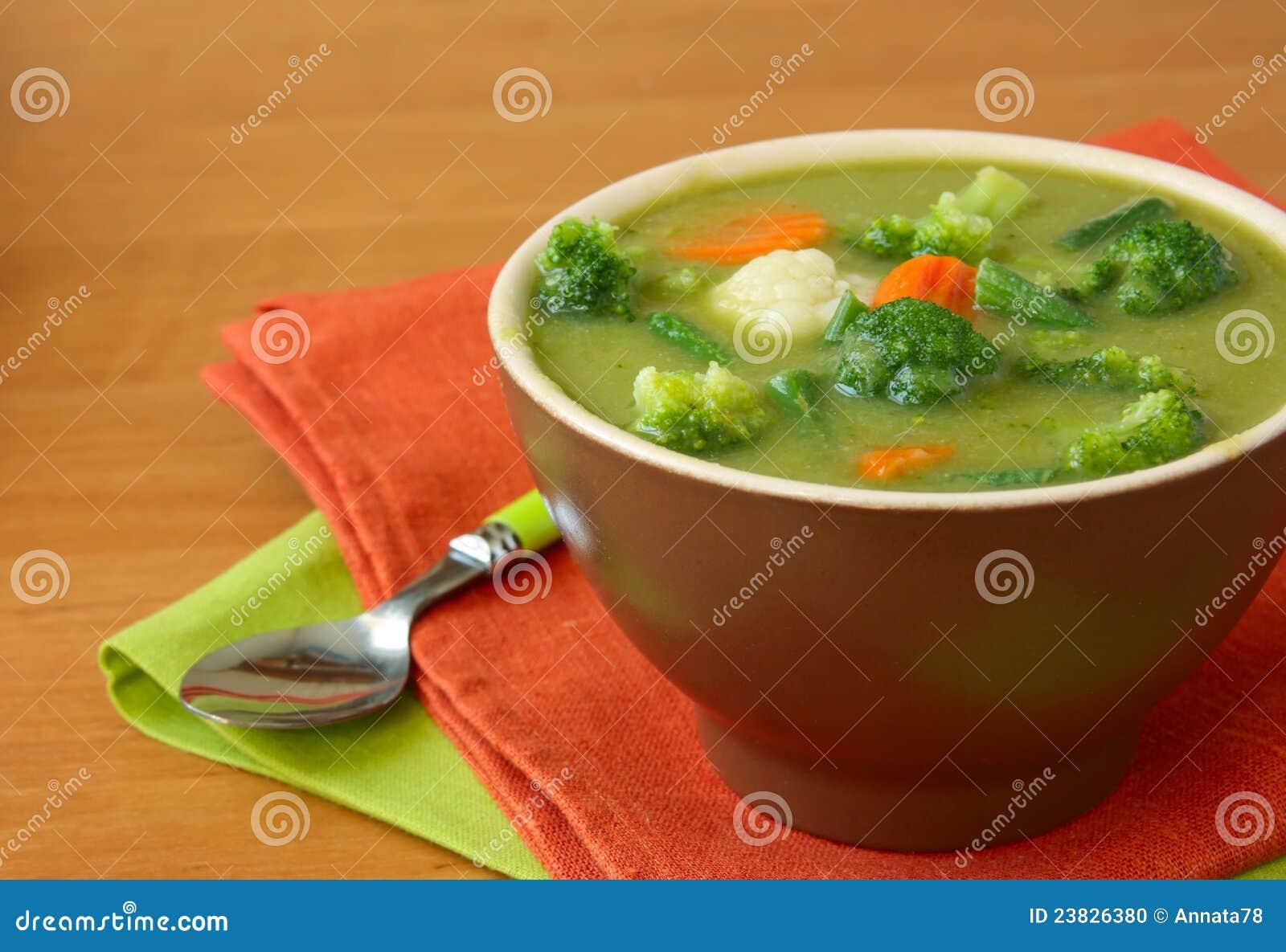 Potage végétarien végétal