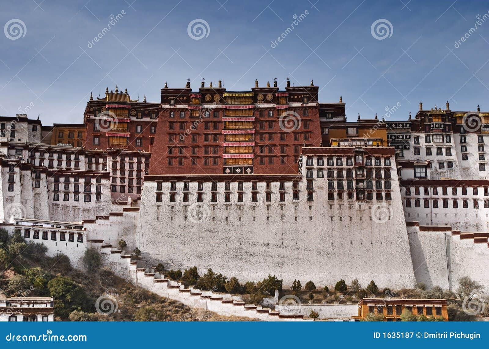 Potala lhasa pałacu
