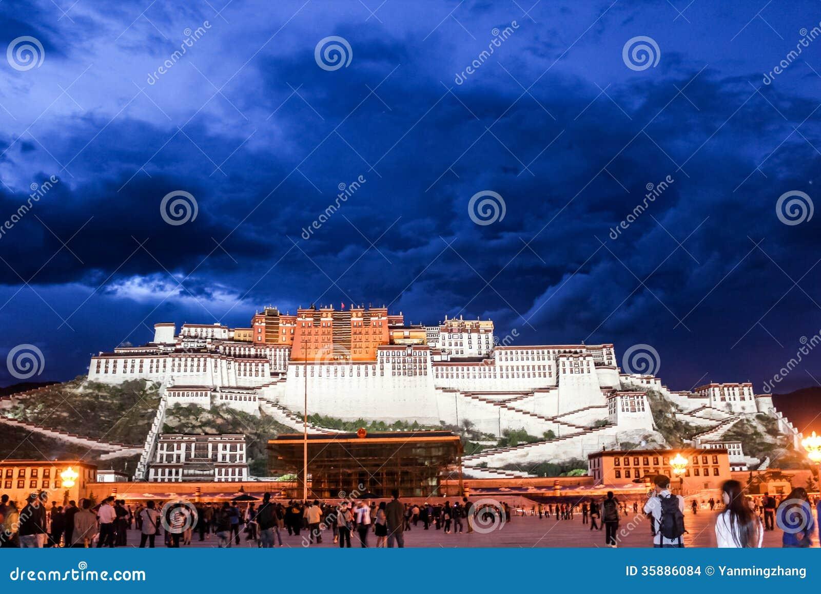 Potala pałac w Tybet