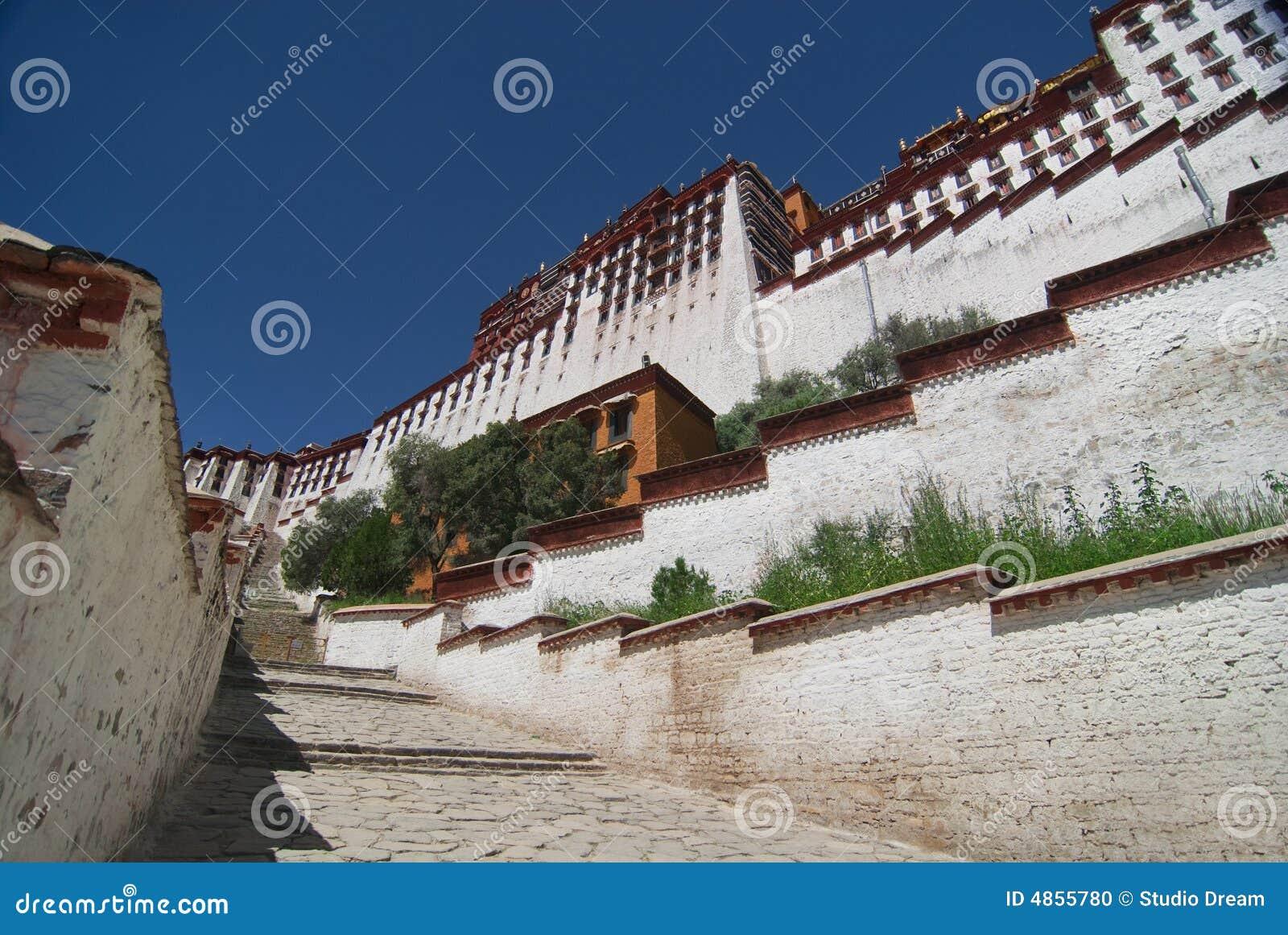 Potala Tibet pałacu.