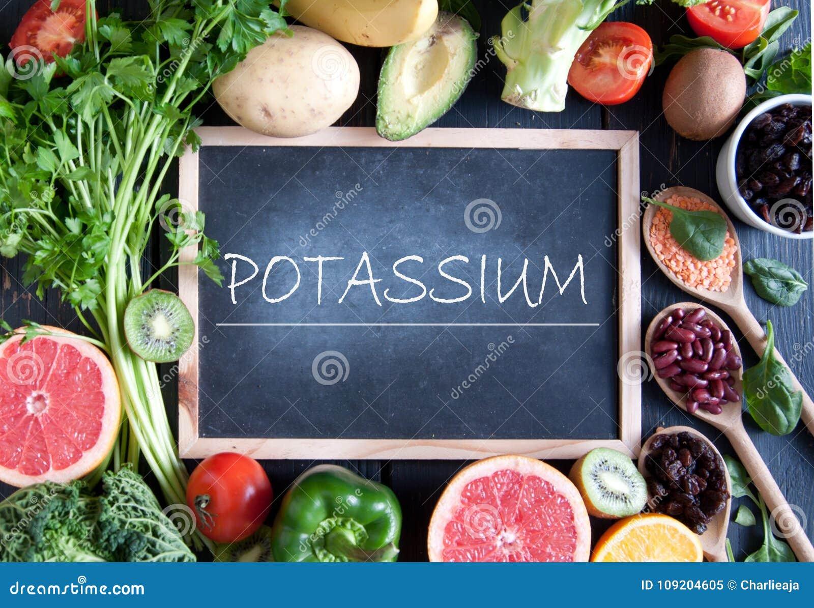 potassium rich diet foods
