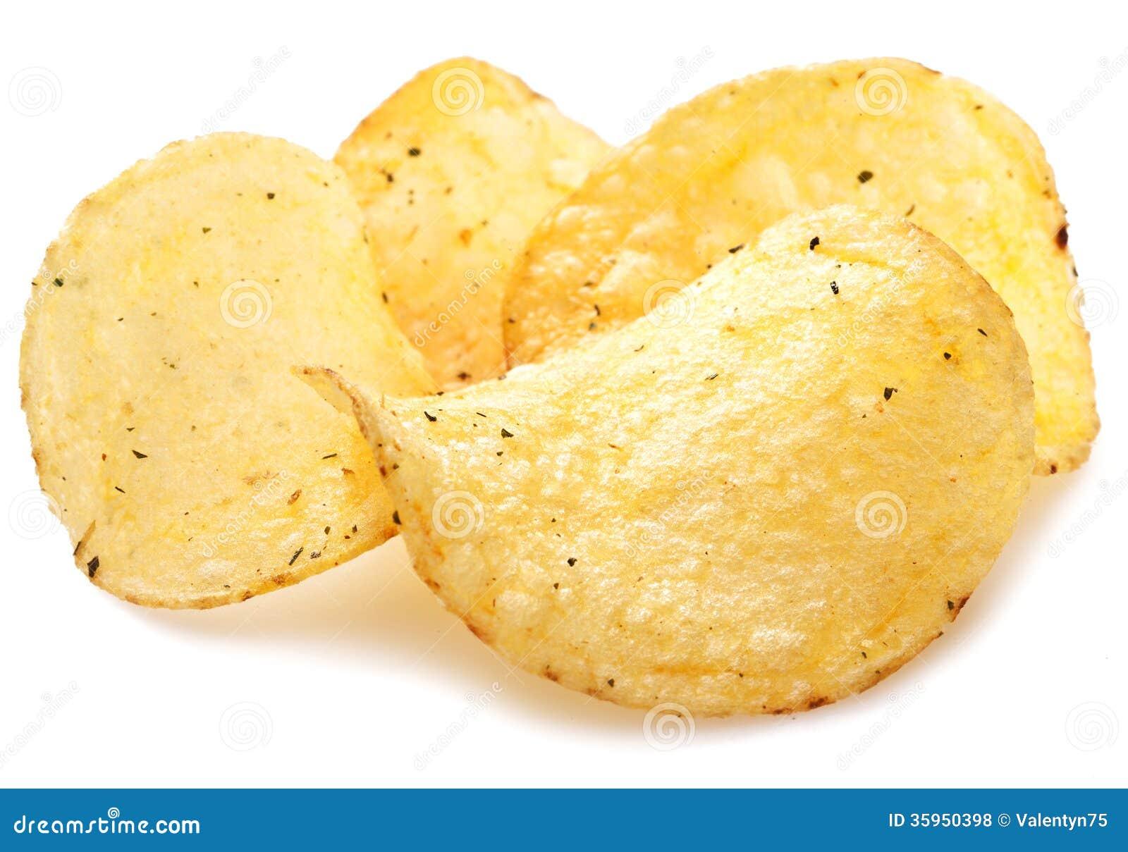 Potato Chips. Royalty Free Stock Photos