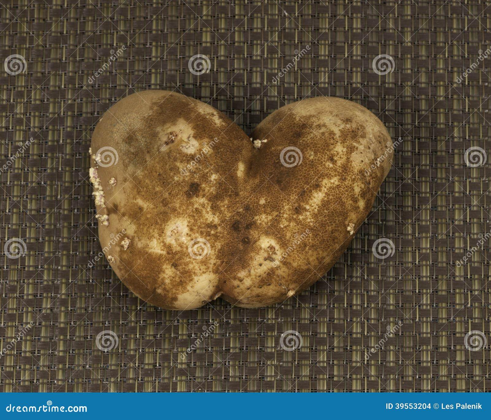 Potatoe i hjärtaform