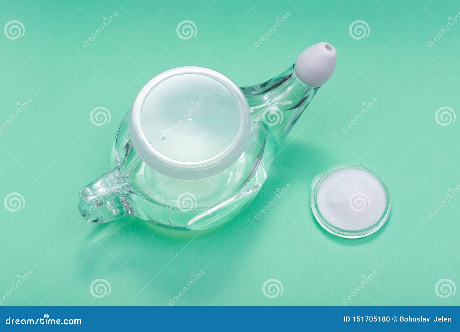 lavado nasal con bicarbonato de sodio
