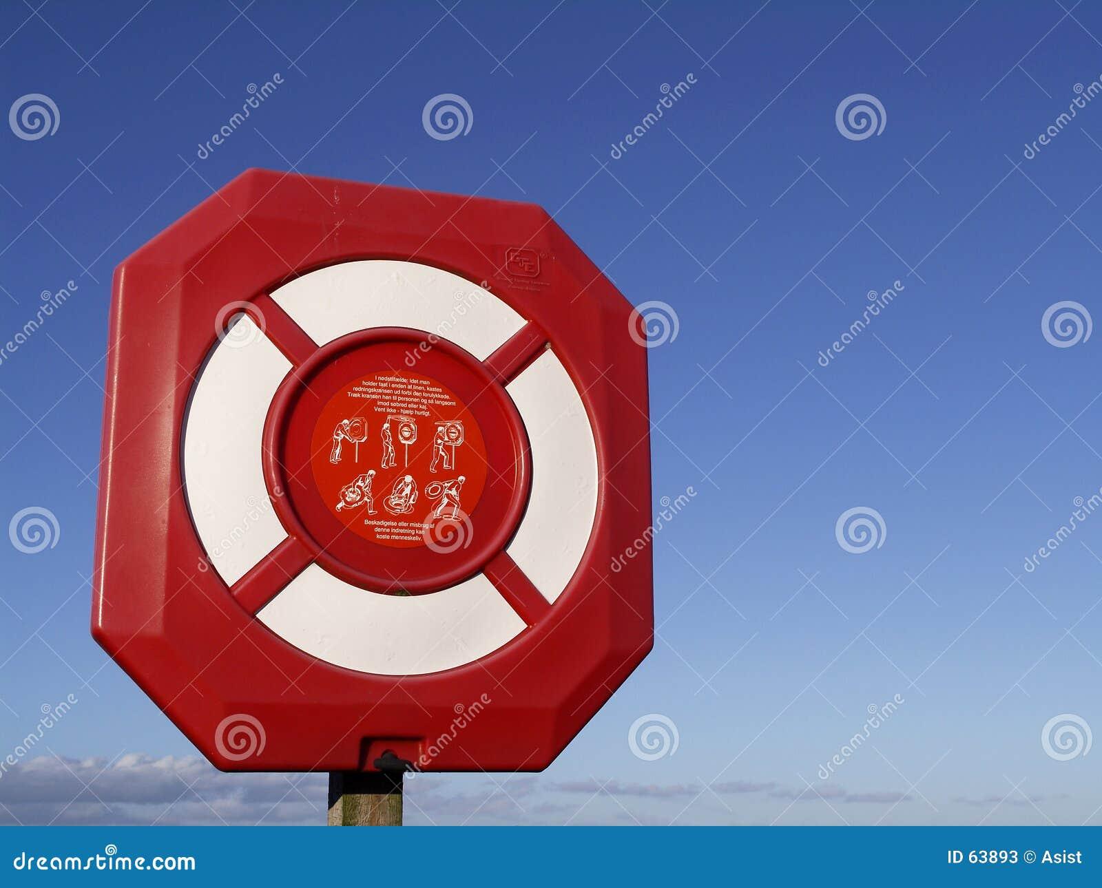 Download Poteau de sauvetage image stock. Image du durée, sauvetage - 63893