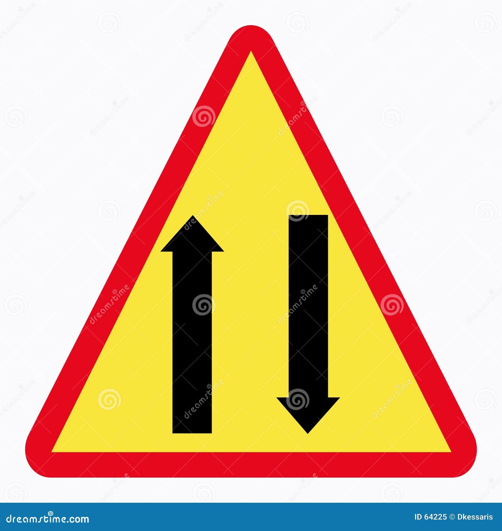 Download Poteau de signalisation illustration stock. Illustration du routes - 64225