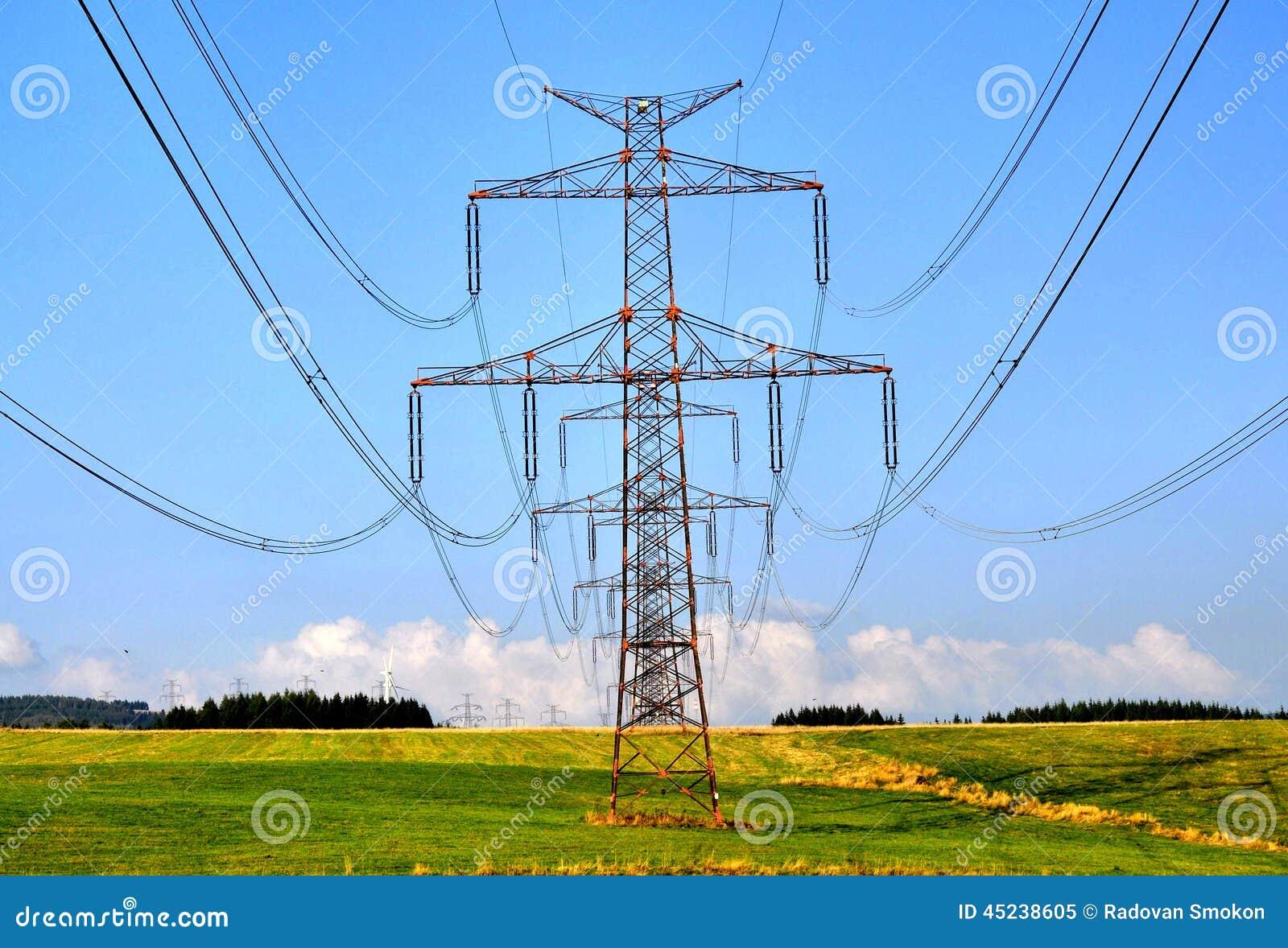 Poteaux de l électricité