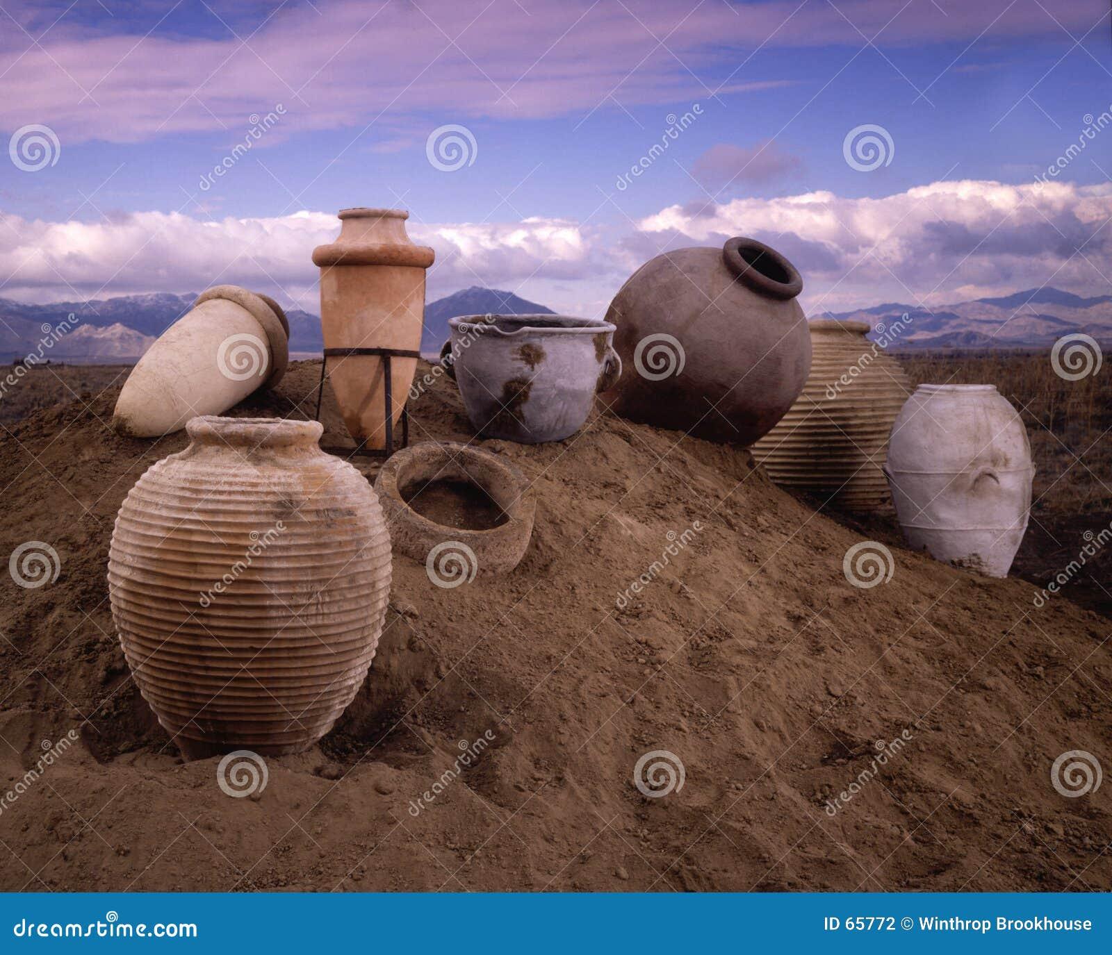 Potenciômetros de argila
