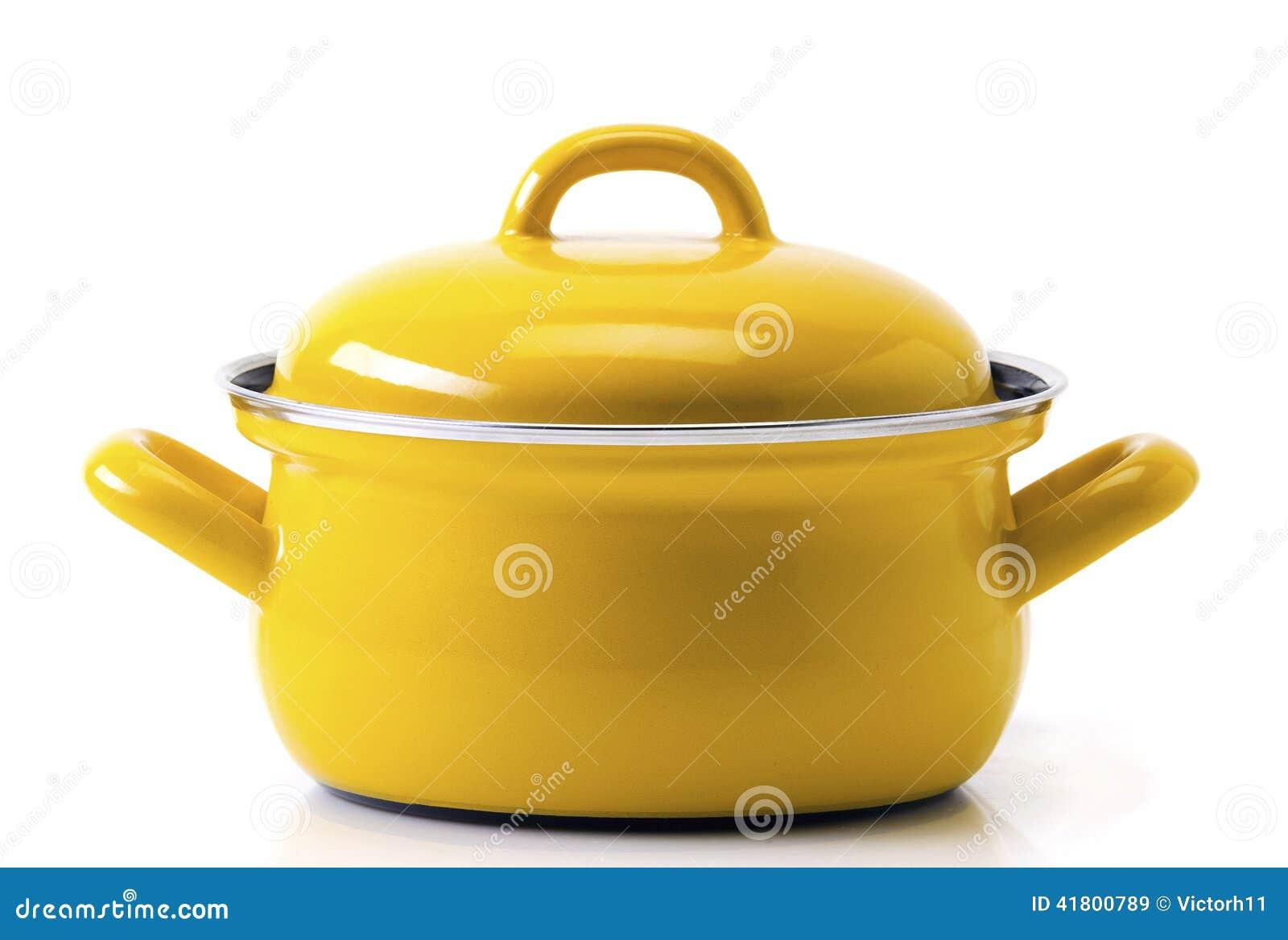 Potenciômetro amarelo da cozinha
