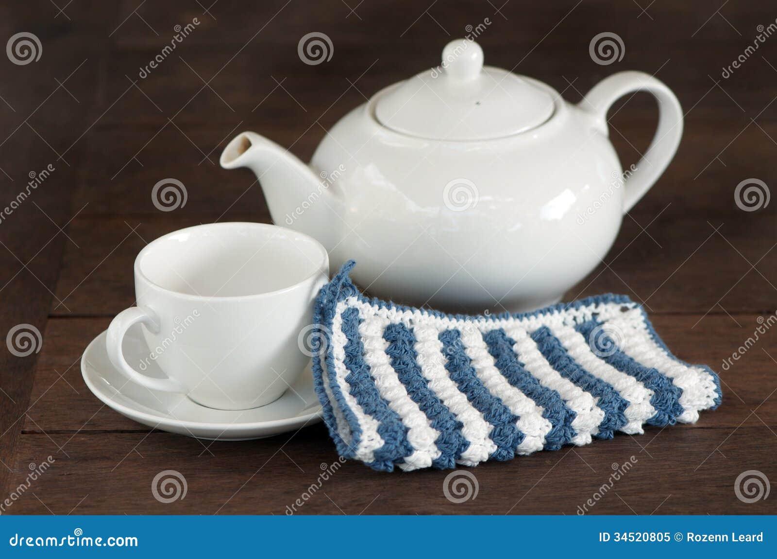 Potenciômetro branco do chá