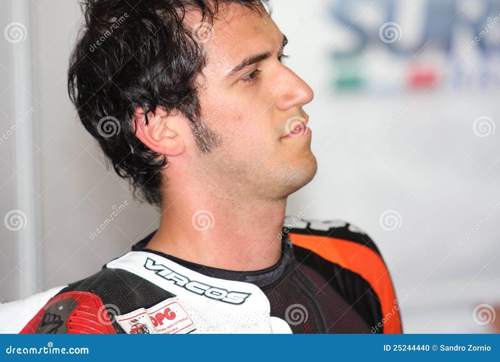 Potenza Suriano di Daytona 675 di trionfo del Alex Baldolini
