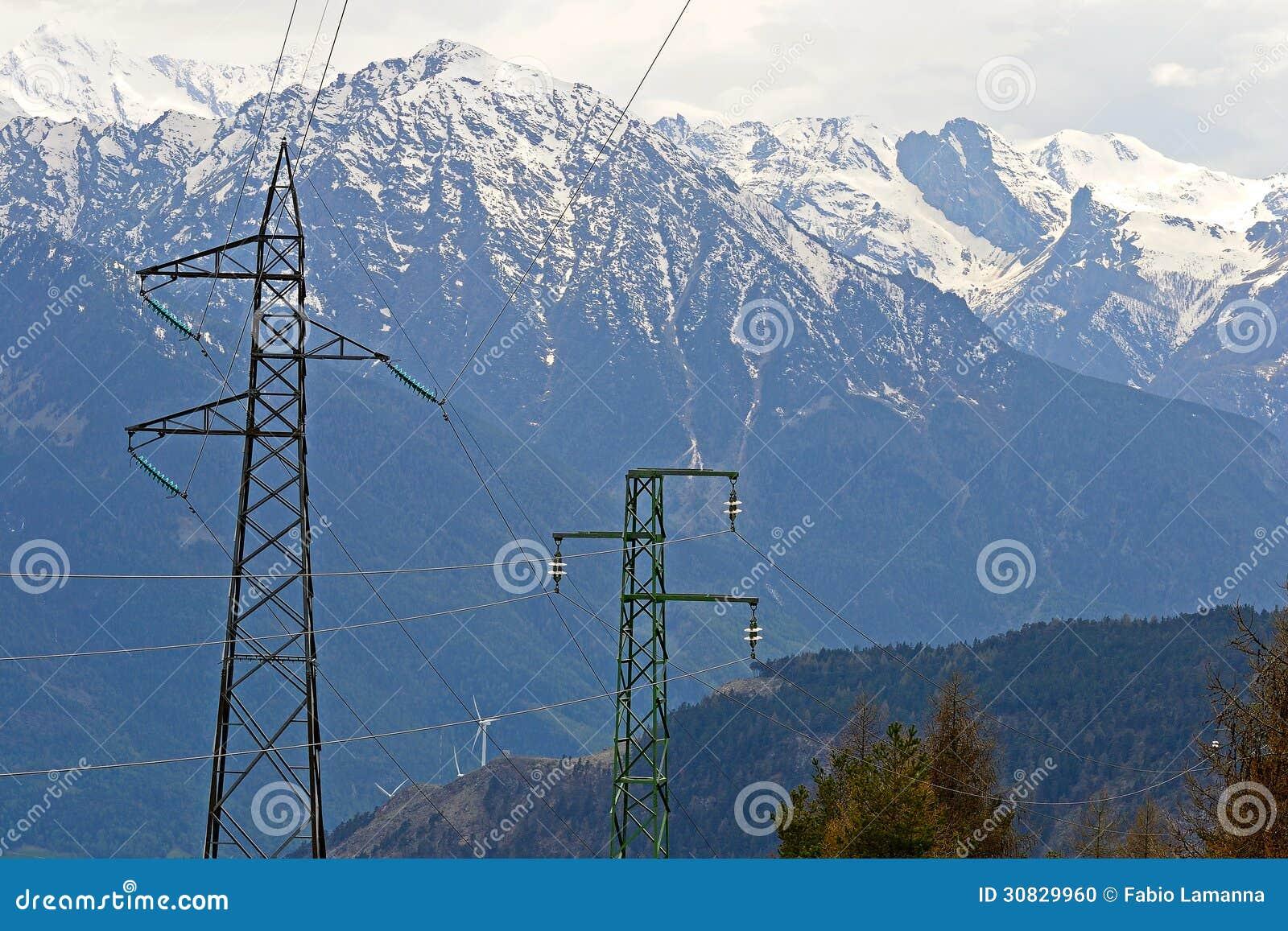Potere nelle alpi