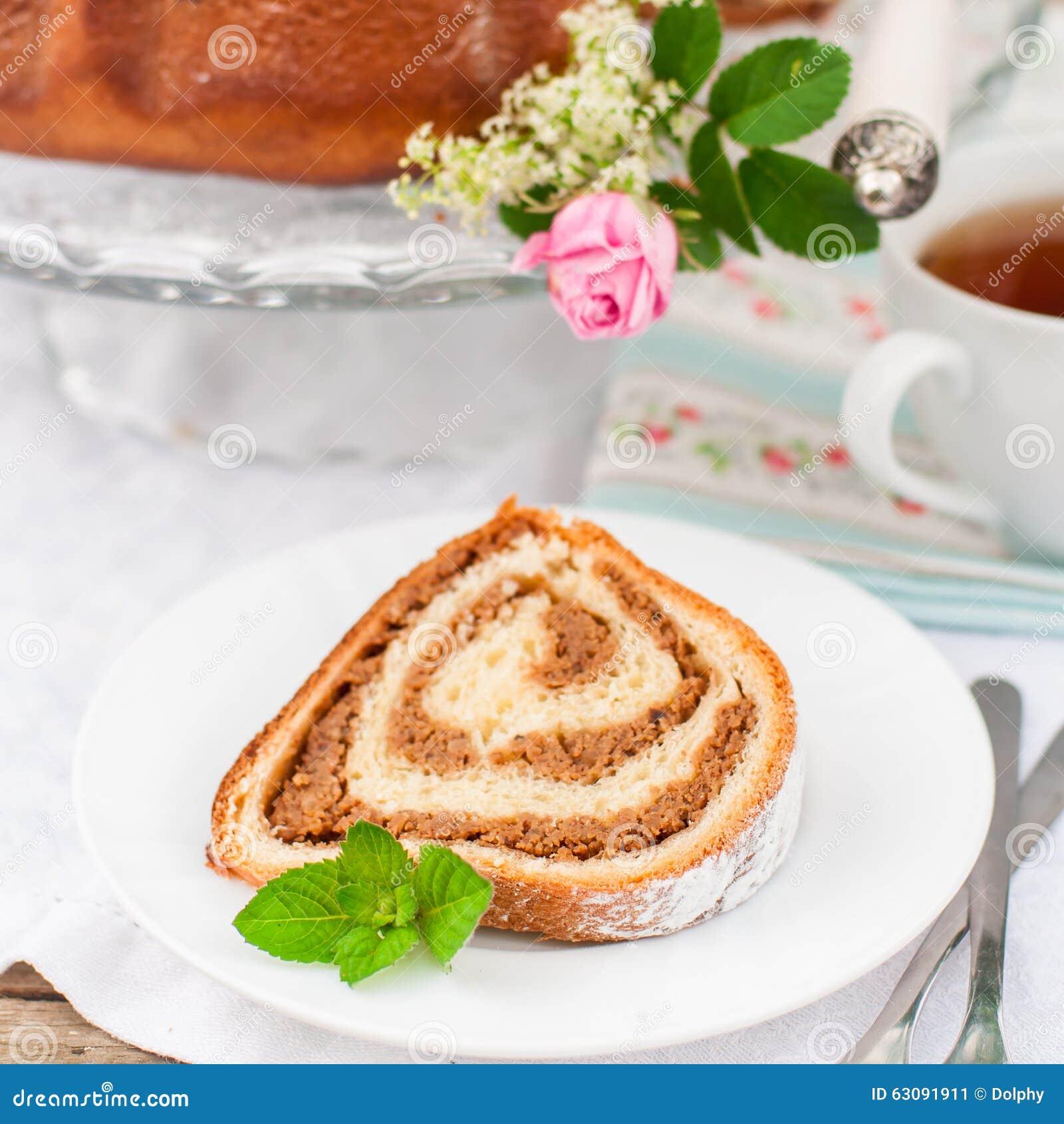 Download Potica, Petit Pain Slovène De Noix Image stock - Image du pâques, gâteau: 63091911