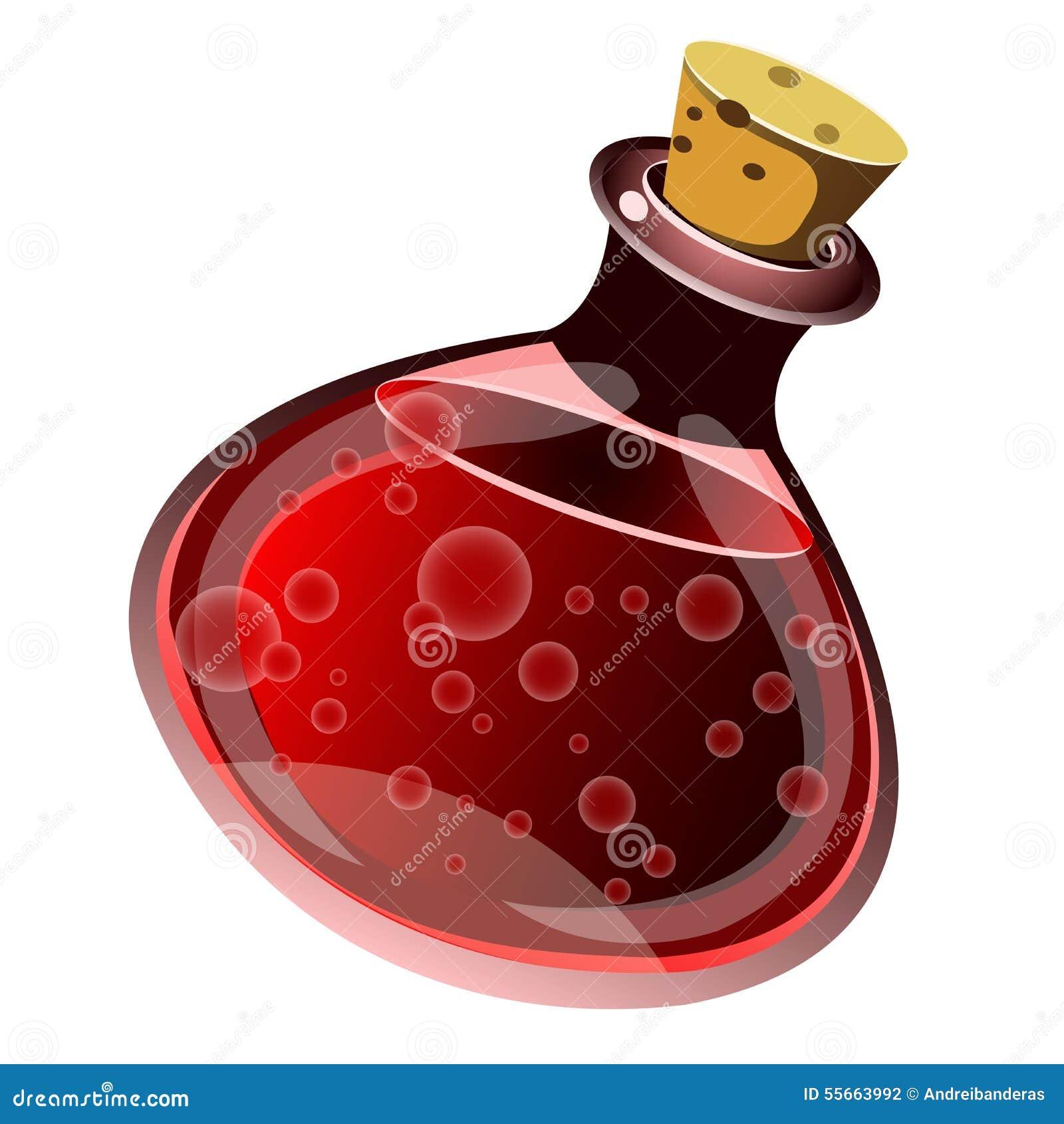 potion stock vector image 55663992 Potion Bottle Drawings Potion Bottle Drawings