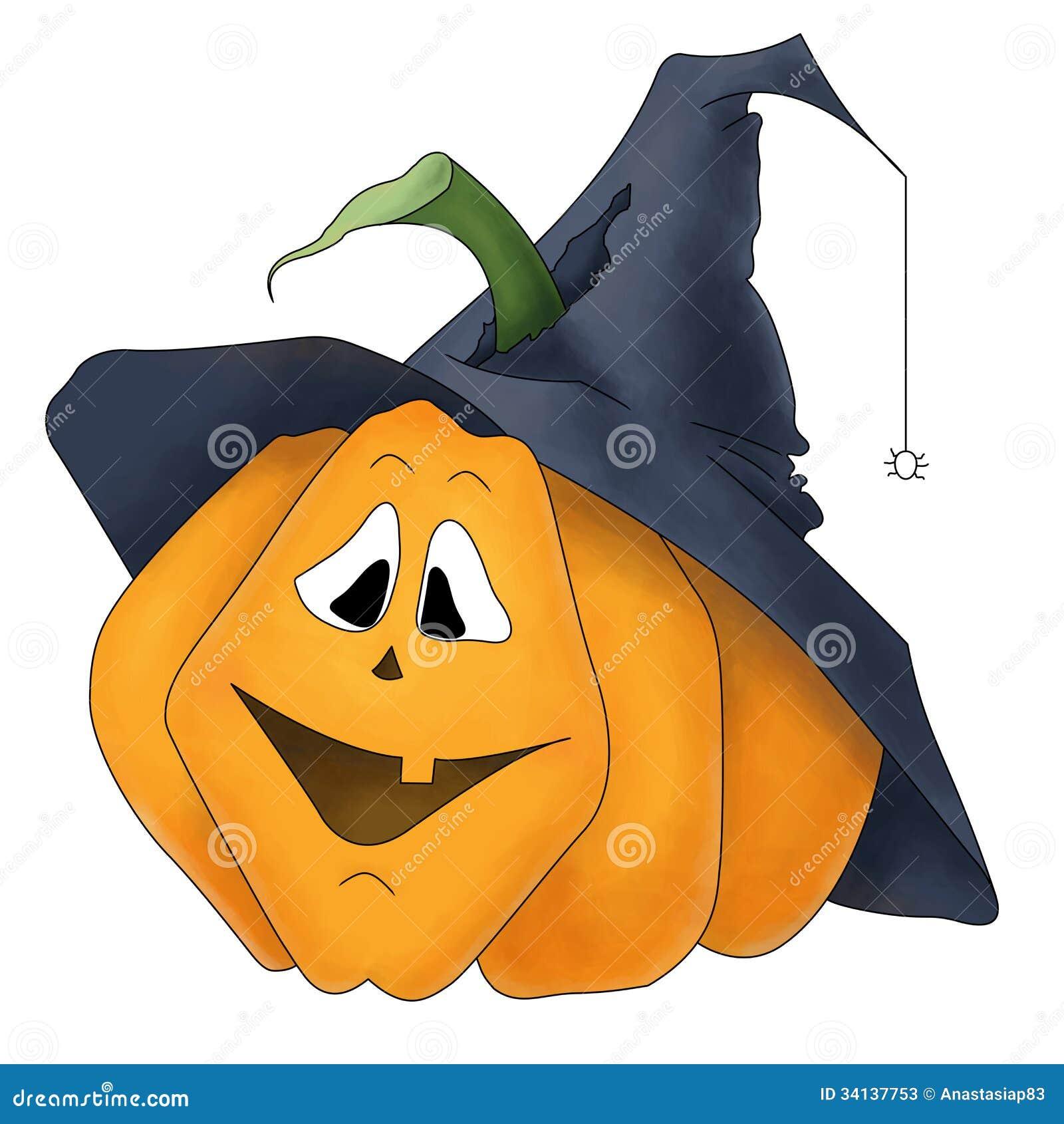 Potiron drôle de Halloween
