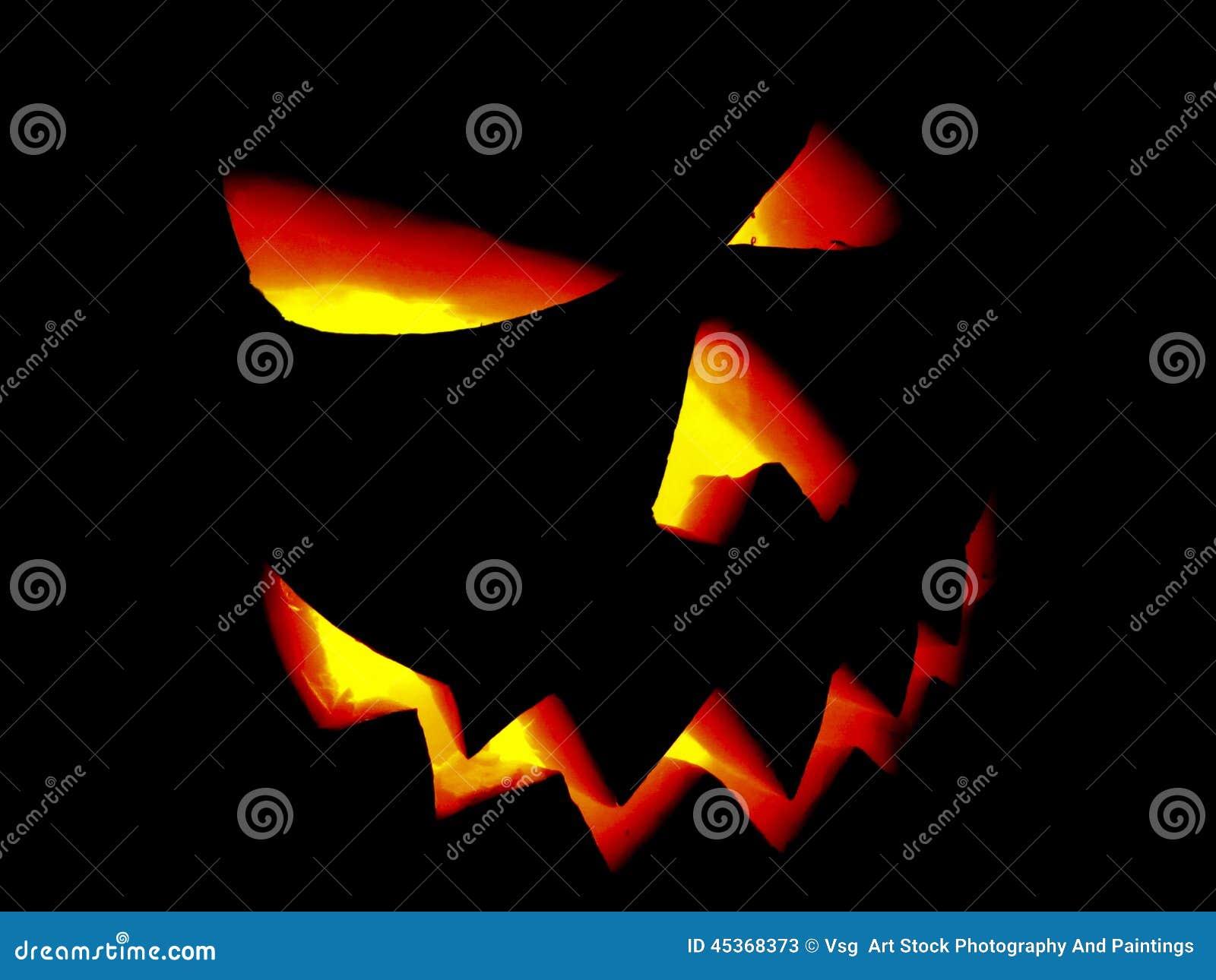 Potiron Halloween Jack O Lantern