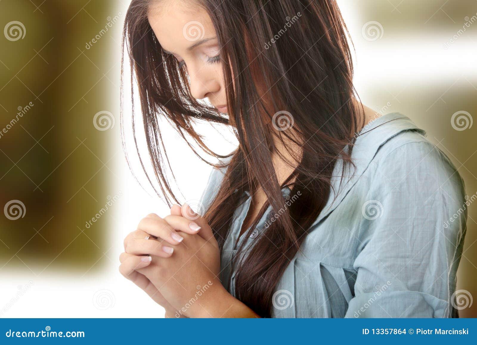 Potomstwa modlenia kobiety potomstwa