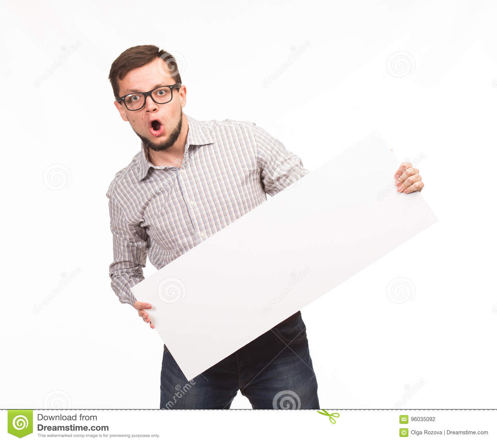 Potomstwa zaskakujący obsługują pokazywać prezentację, wskazuje na plakacie