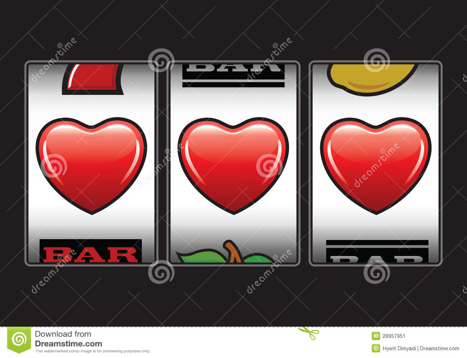 Potrójna serce szczelin maszyna