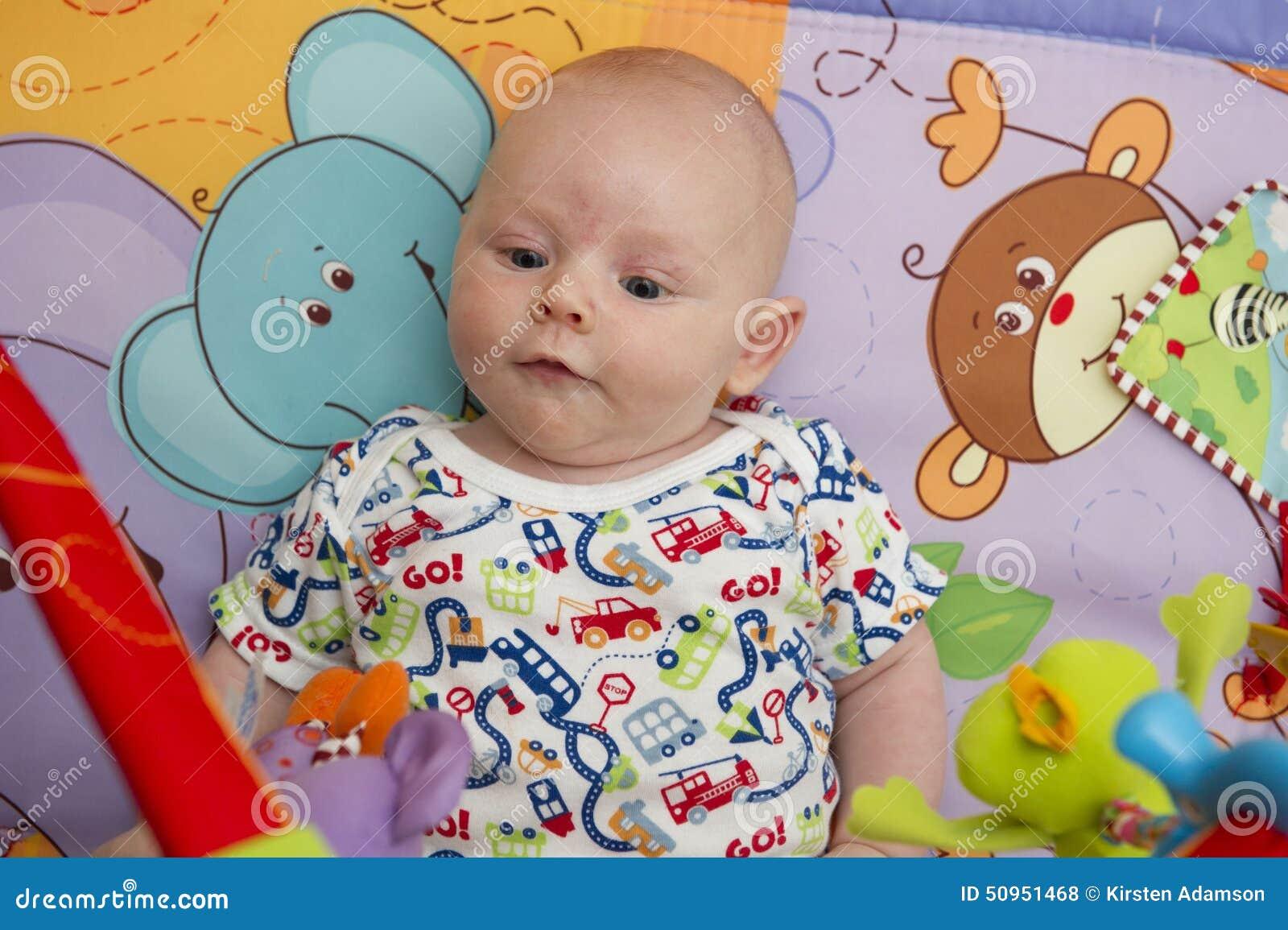 Potrait de bébé garçon