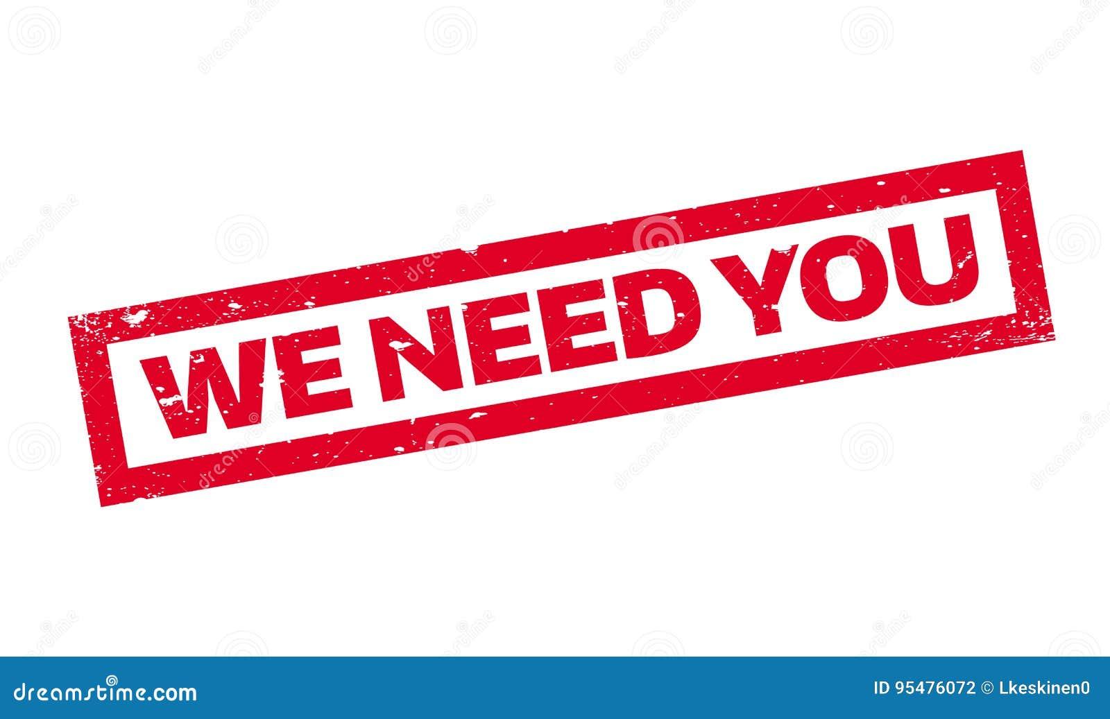 Potrzebujemy Was pieczątka
