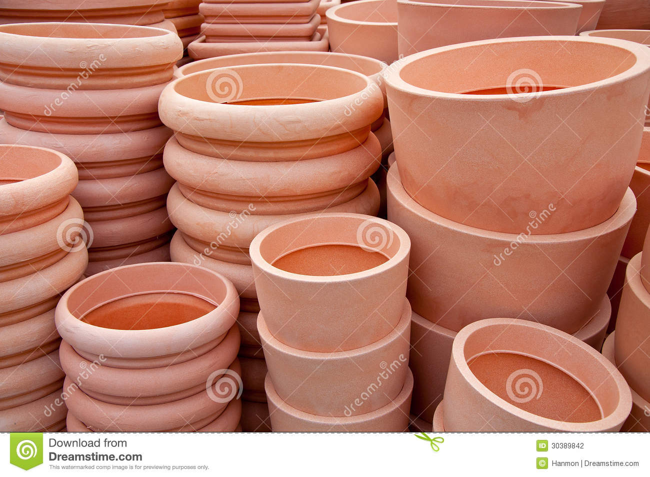 Pots For Sale Stock Photography Image 30389842