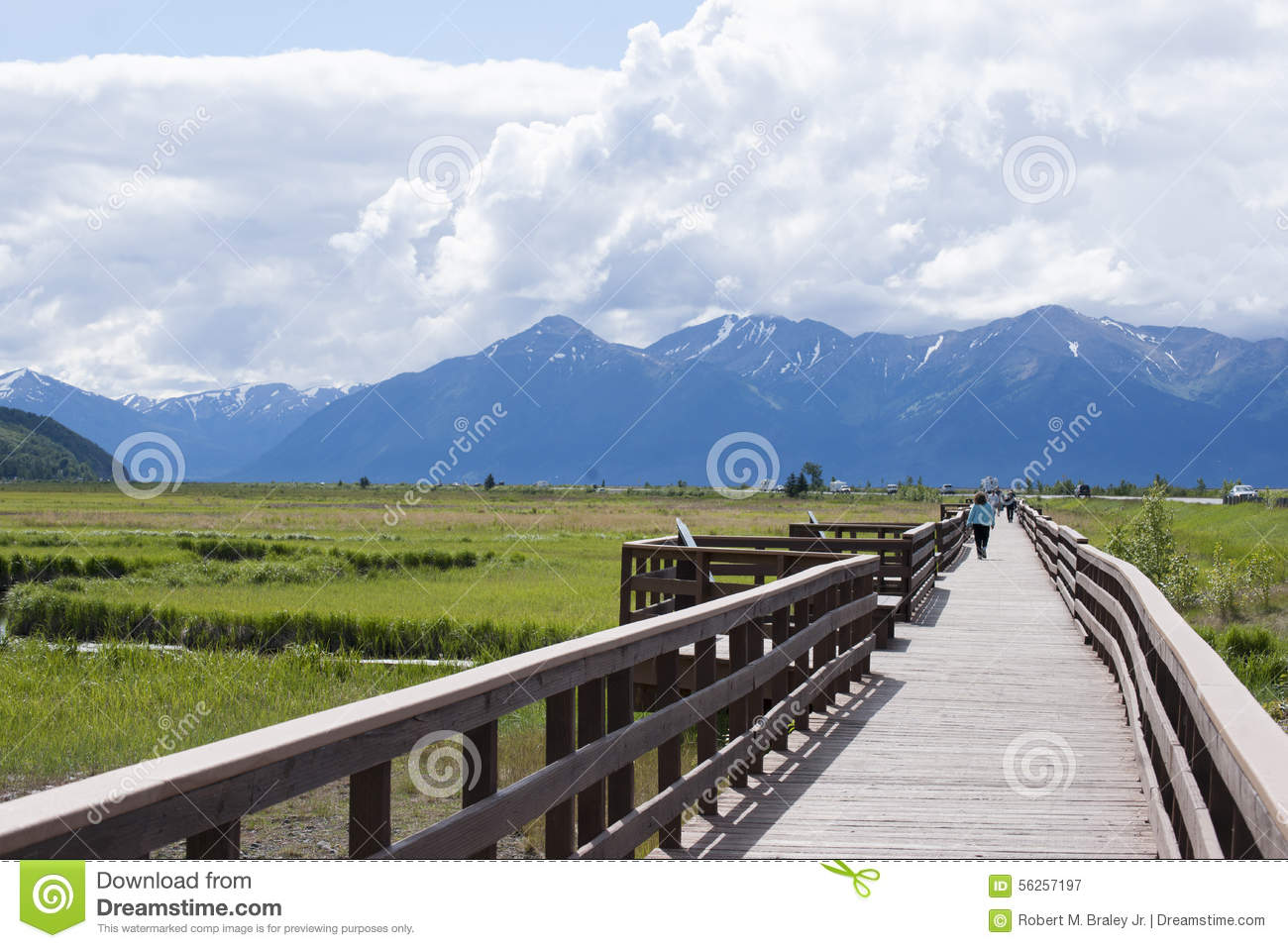 Download Potter Marsh Wildlife Refuge Anchorage Alaska Editorial Photography - Image of child, wildlife: 56257197