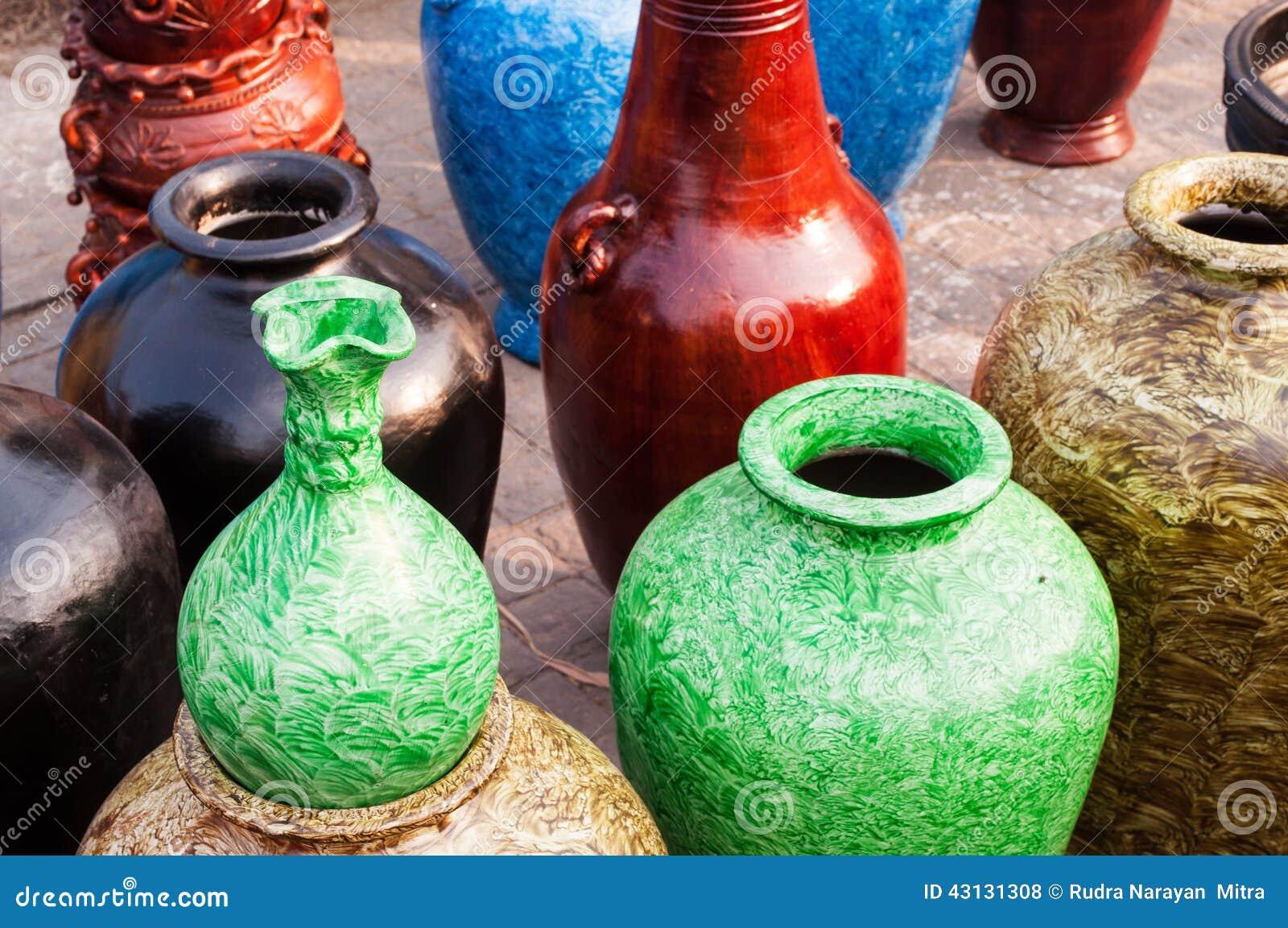 Potteries Art Work Indian Handicrafts Fair At Kolkata Editorial