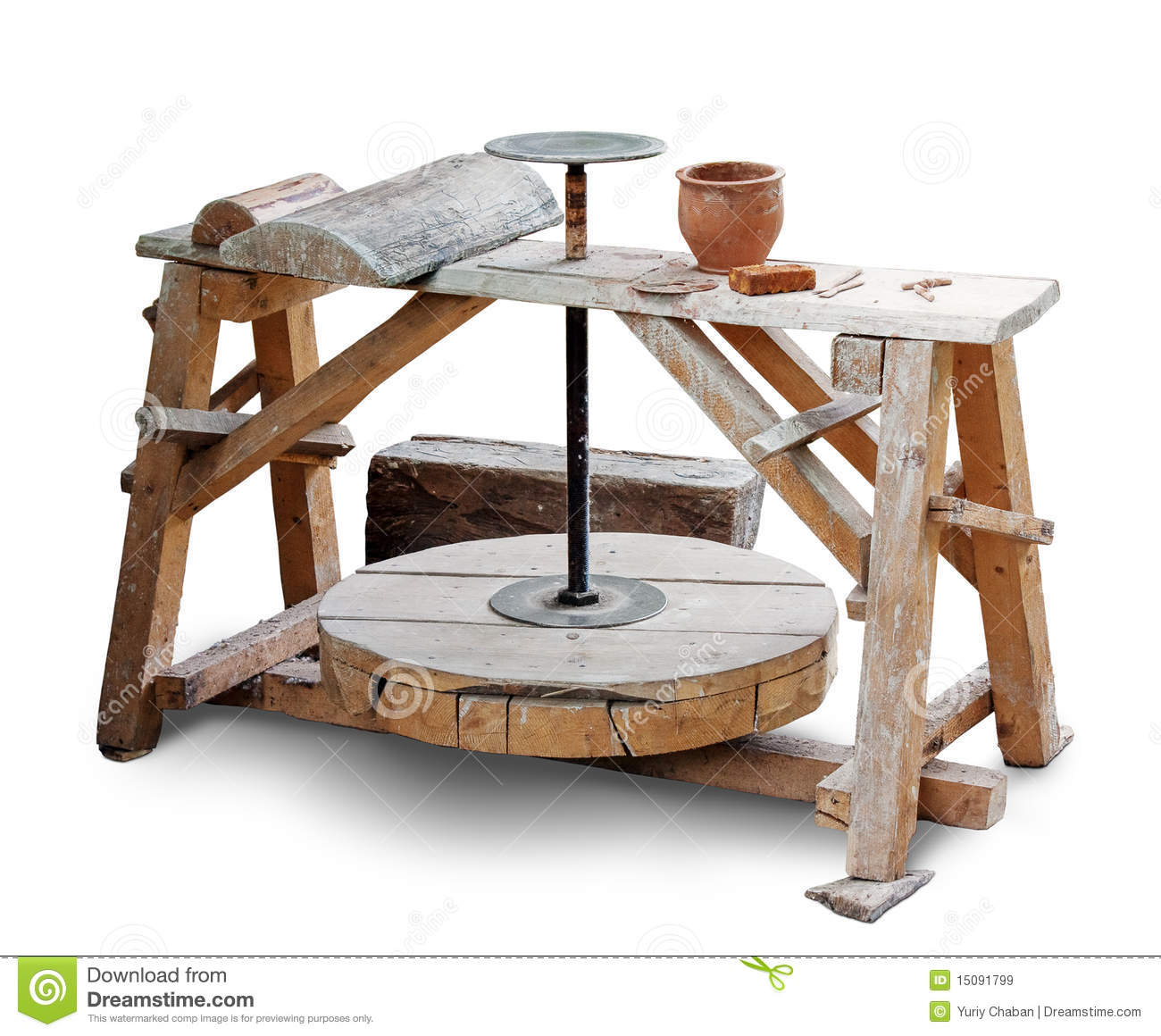 Potters Wheel Royalty Free Stock Images Image 15091799