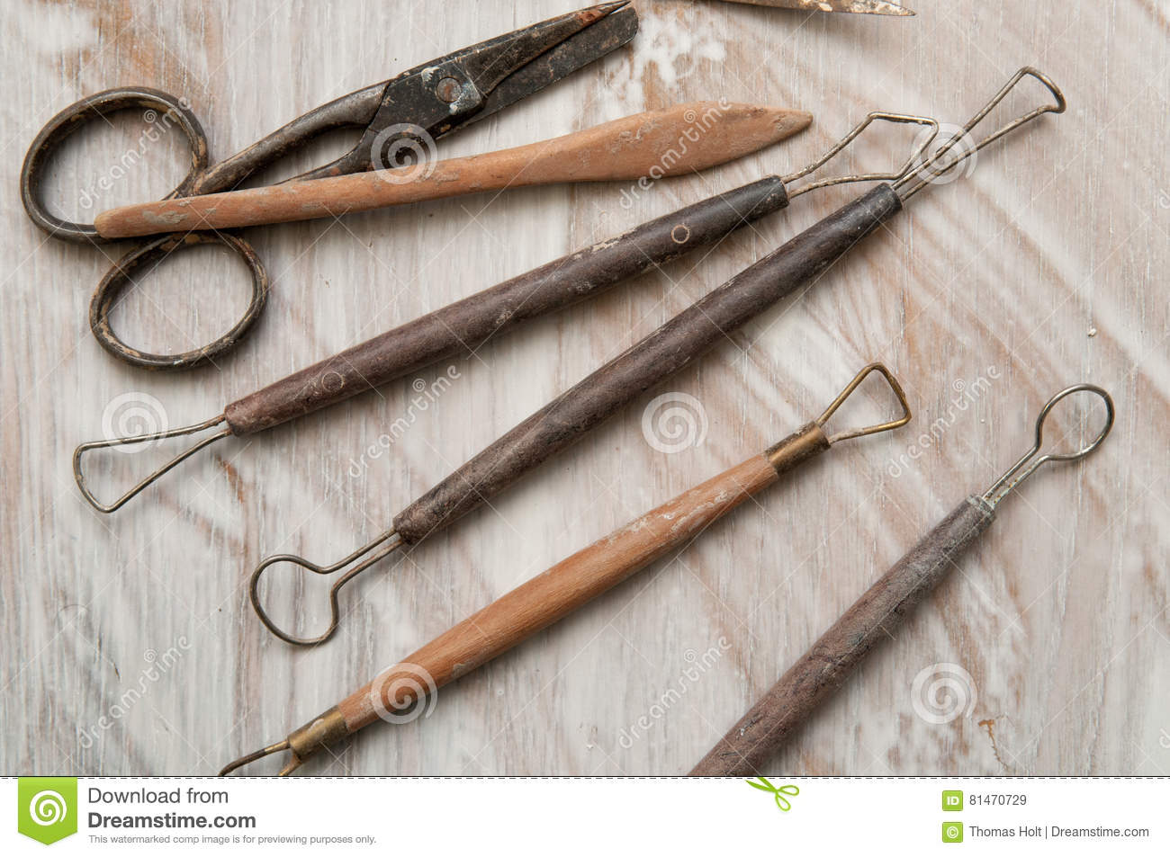 Pottery making tools