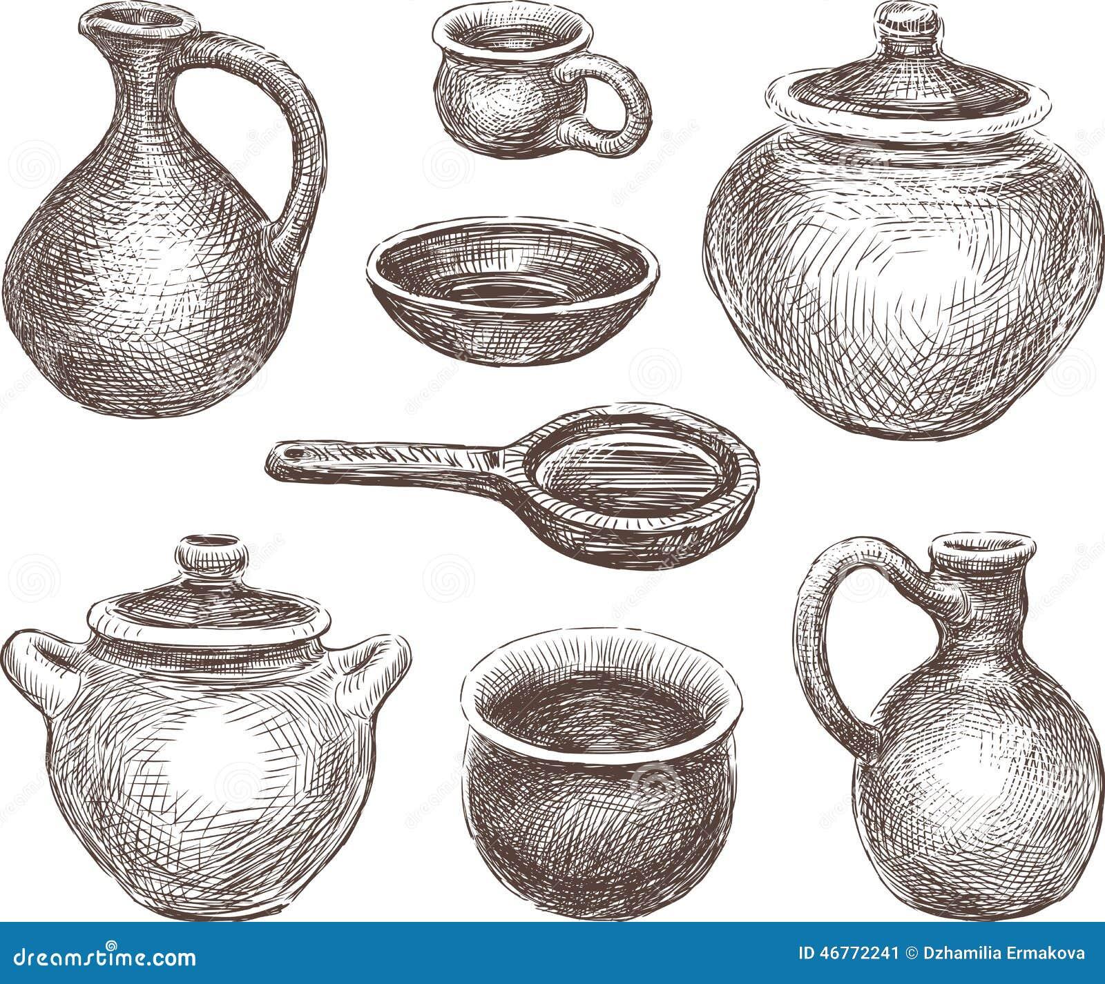 Pottery Stock Photo Image 46772241