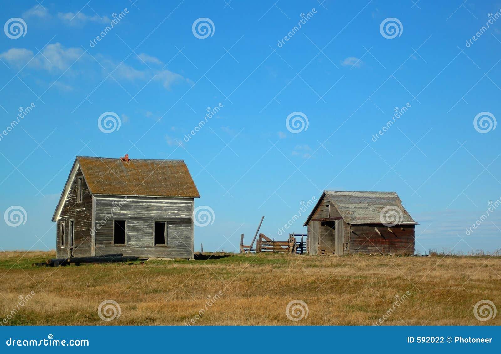 Pouca casa na pradaria