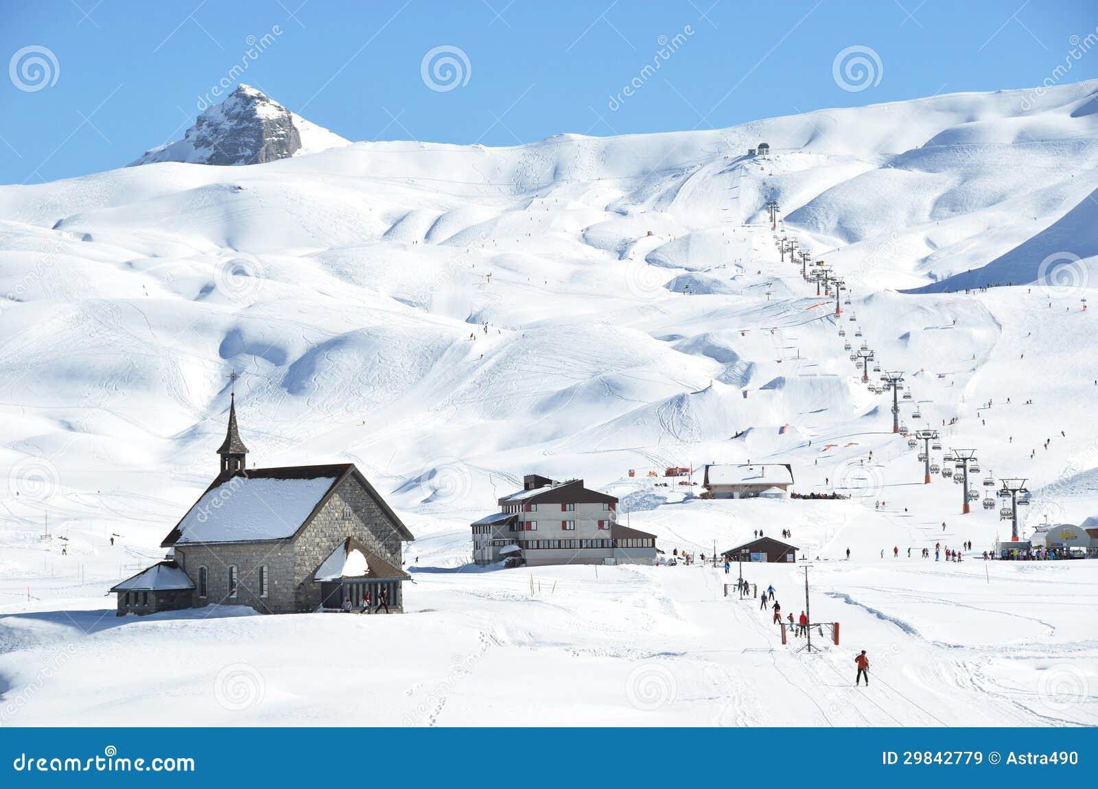 Chappel em Melchsee-Frutt, Switzerland