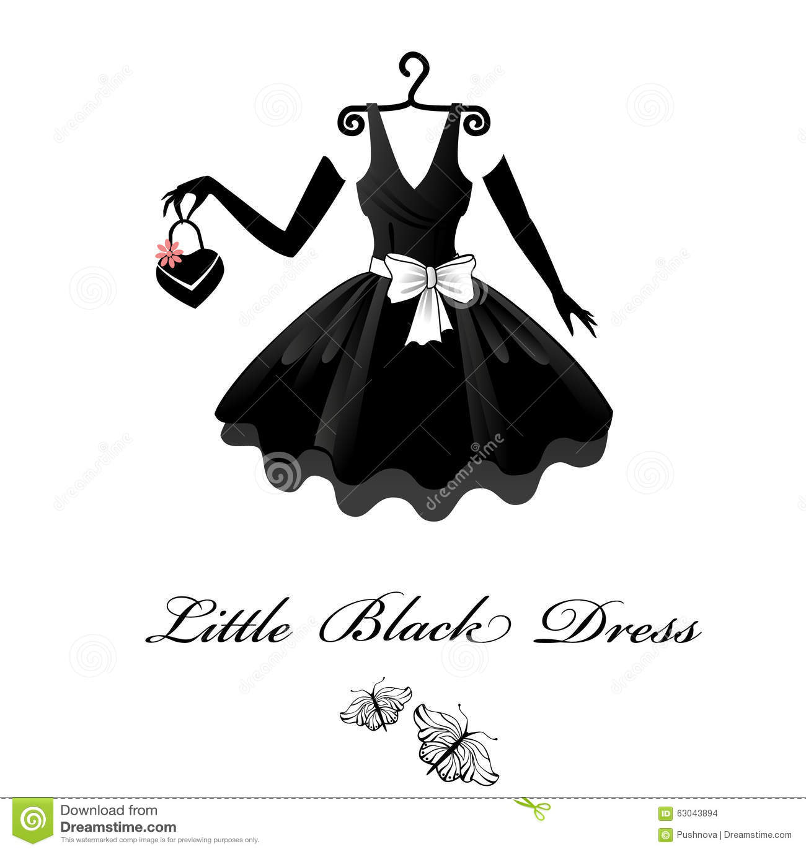 Pouco vestido preto