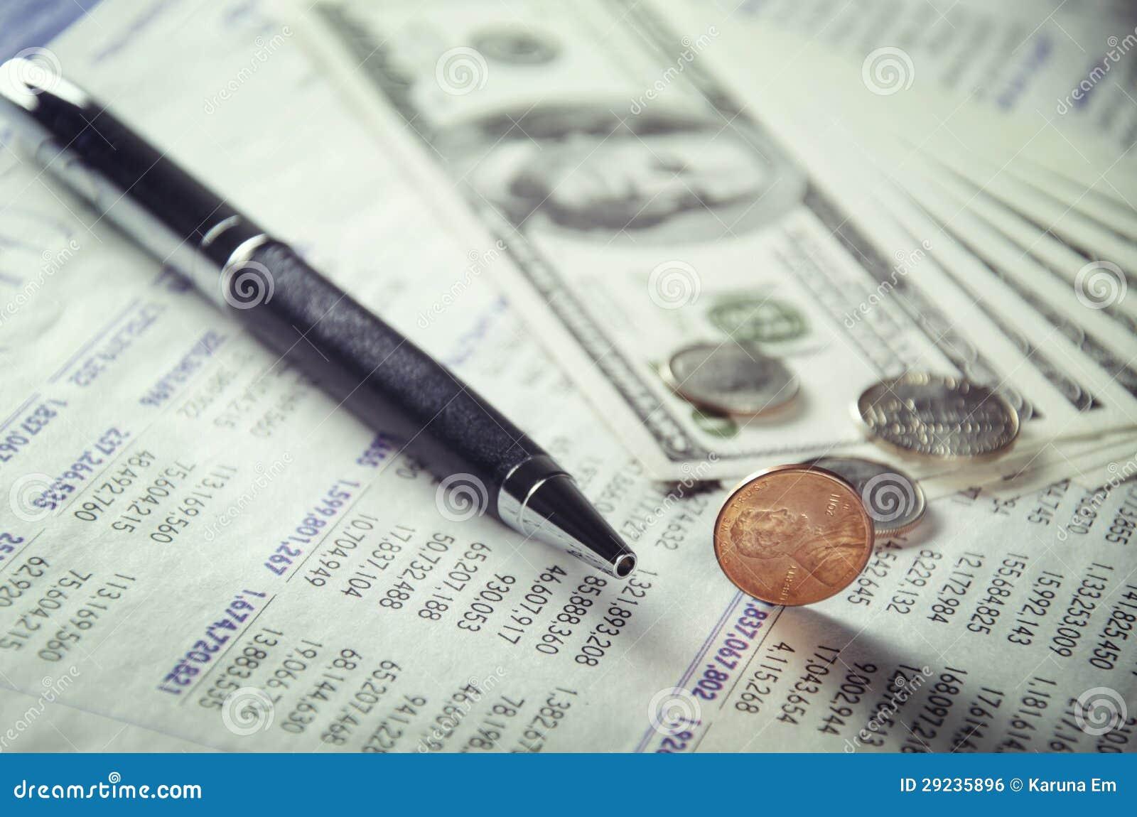 Download Poucos centavos foto de stock. Imagem de macro, mercado - 29235896