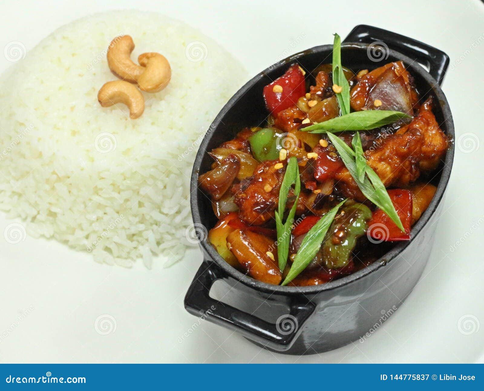 Poulet chinois de Kung Pao