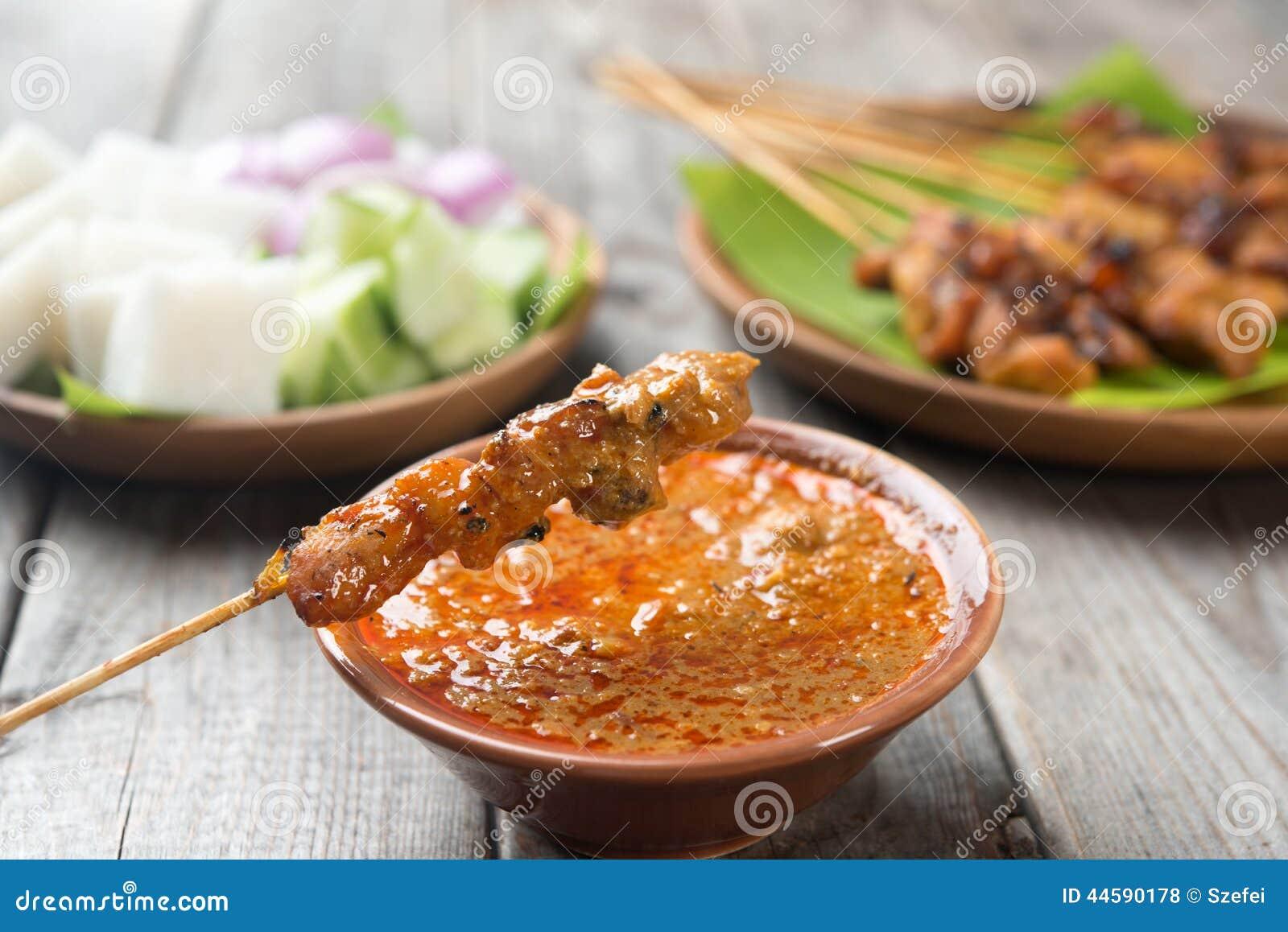 Poulet délicieux satay