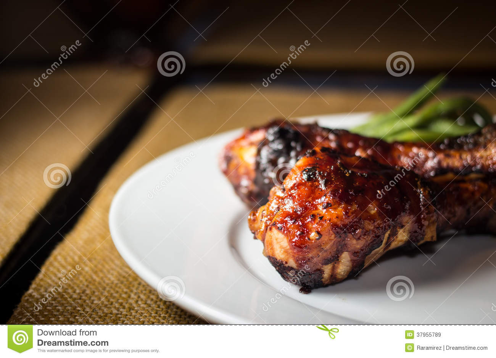 Poulet de BBQ