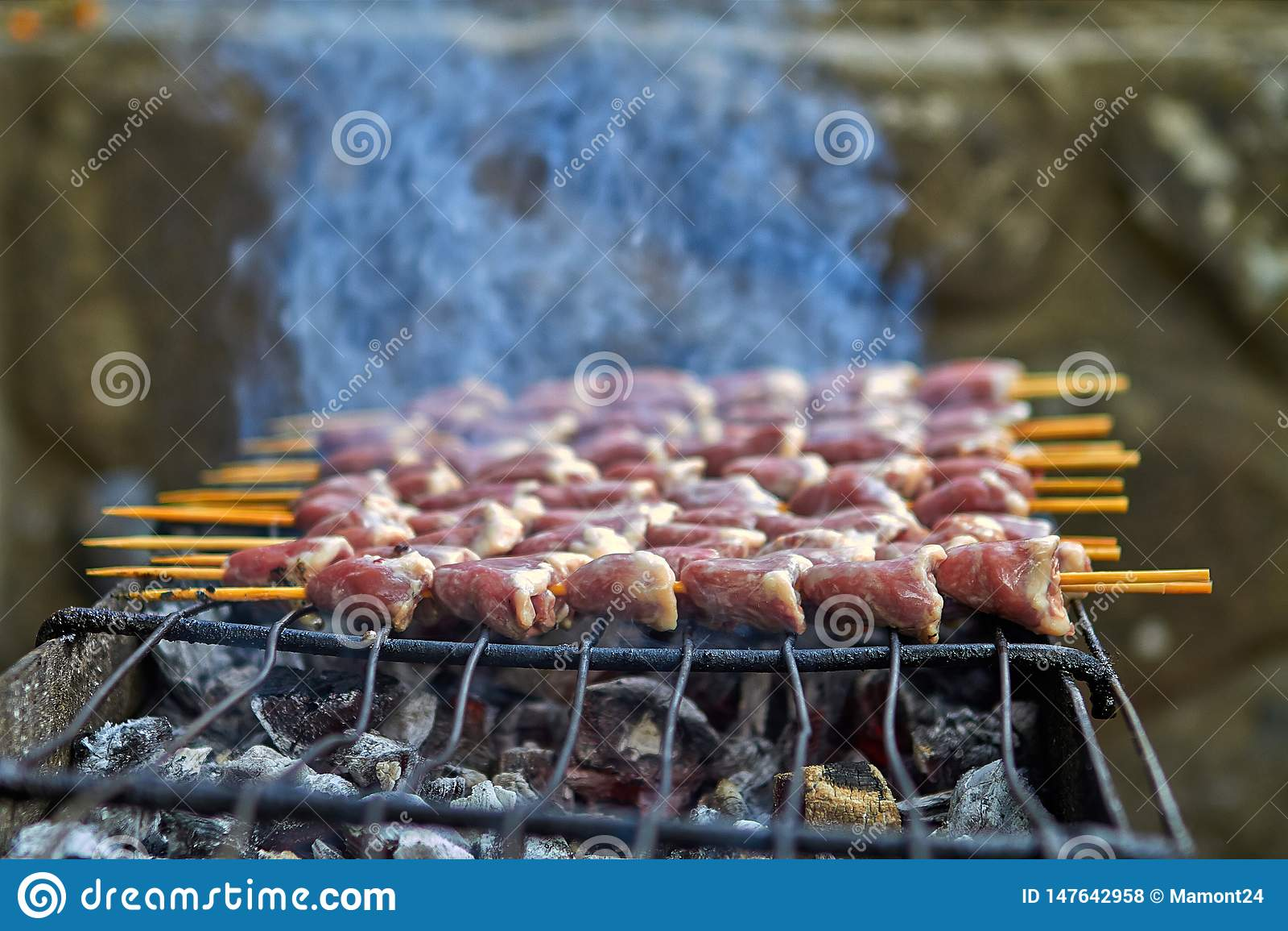 Poulet grill? un ressort chaud