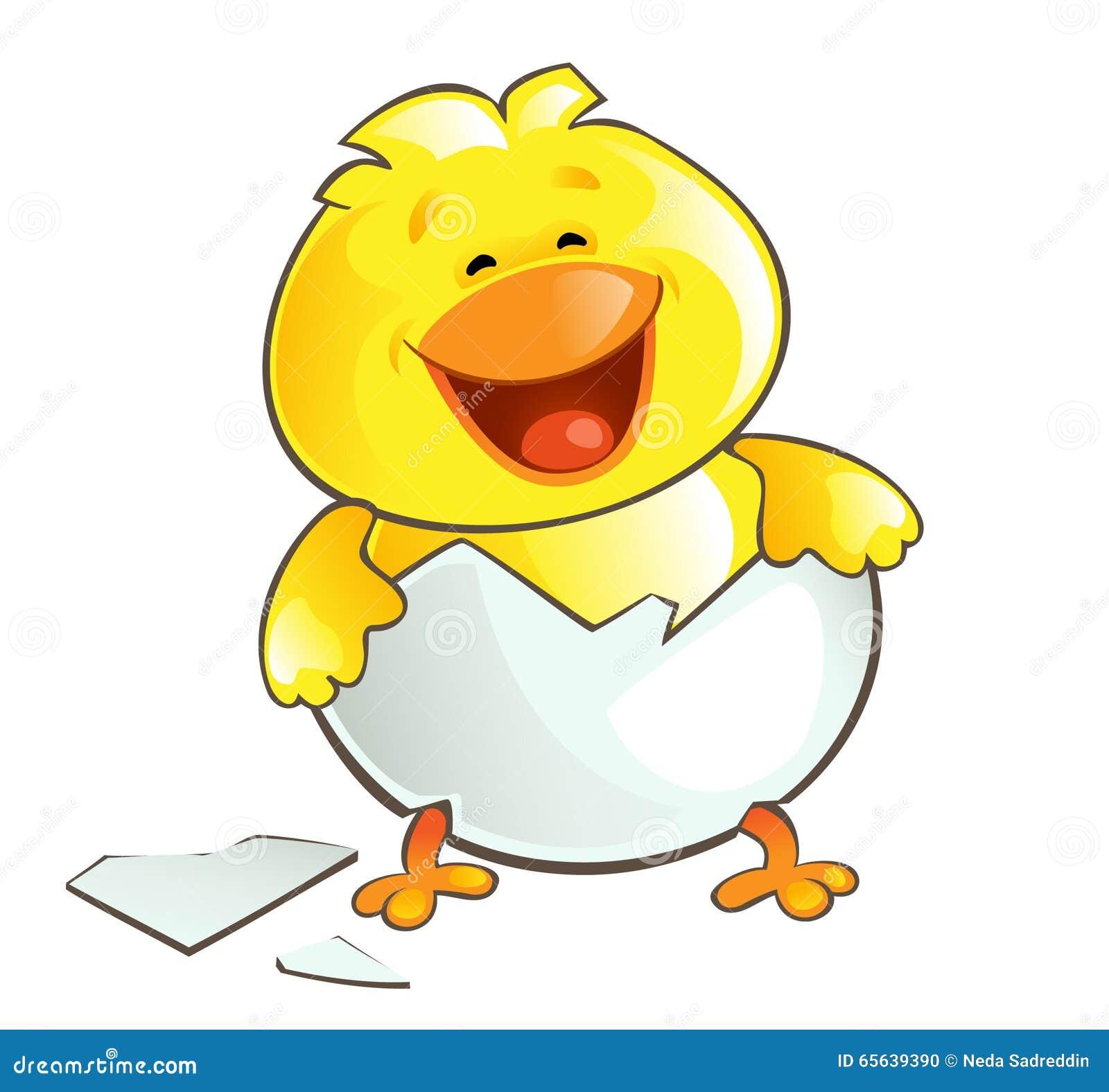 Poulet heureux