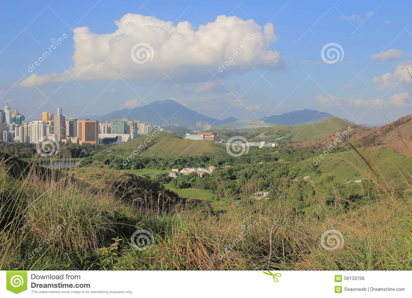 Poumon de TSO de mA à de nouveaux territoires est du nord, Hong Kong