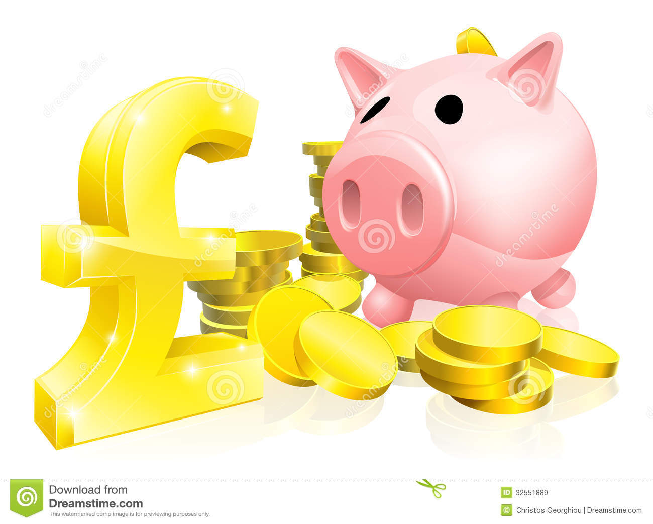pound sign piggy bank royalty free stock images image penny clip art 1971 penny clip art 1971