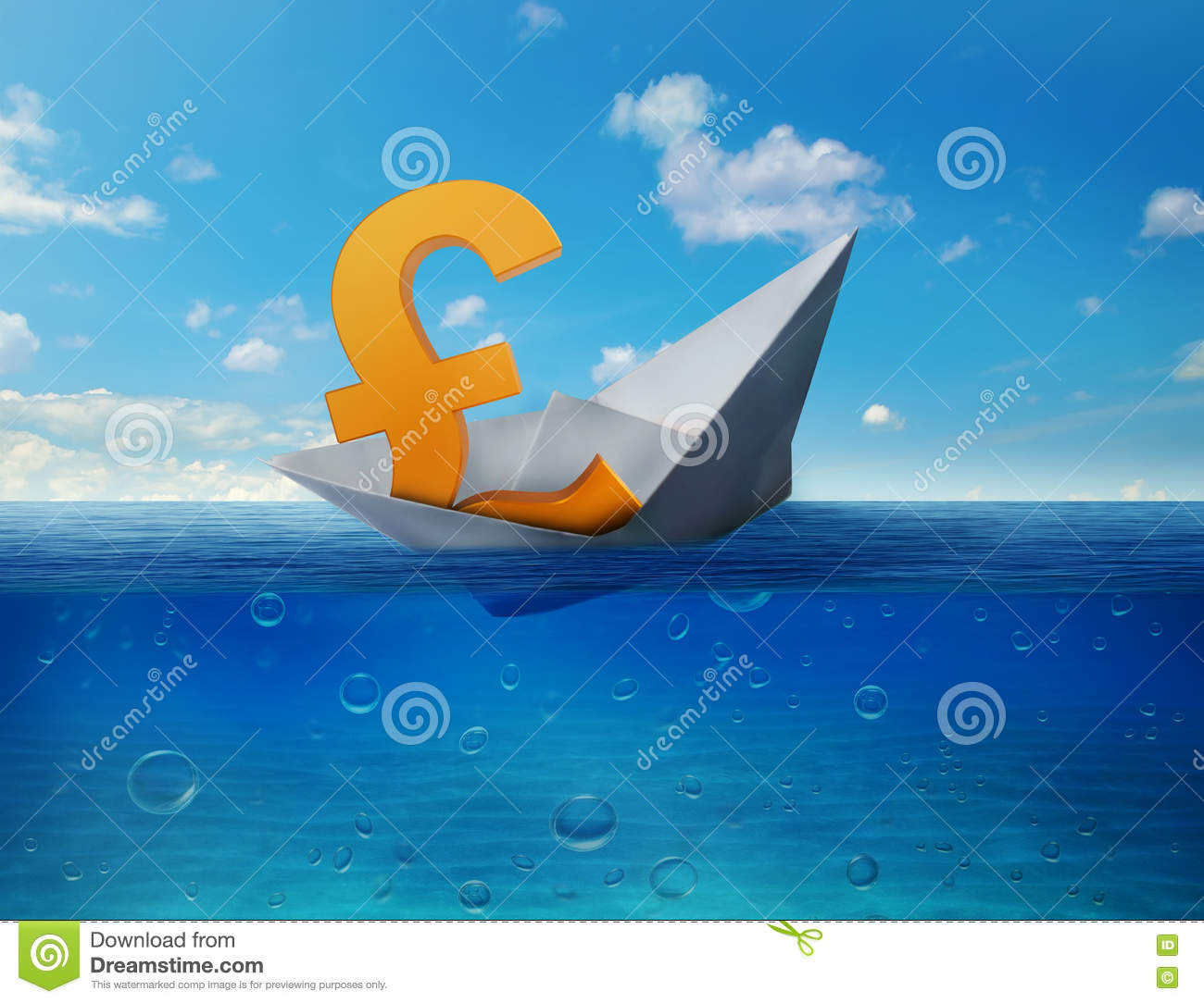 Pound sinking in sea symbol of future uk economy depression pound sinking in sea symbol of future uk economy depression recession economic downturns results of brexit polls debt down buycottarizona