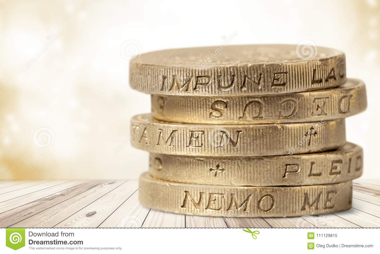 Pound Symbol Stock Image Image Of Investment Metal 111129815