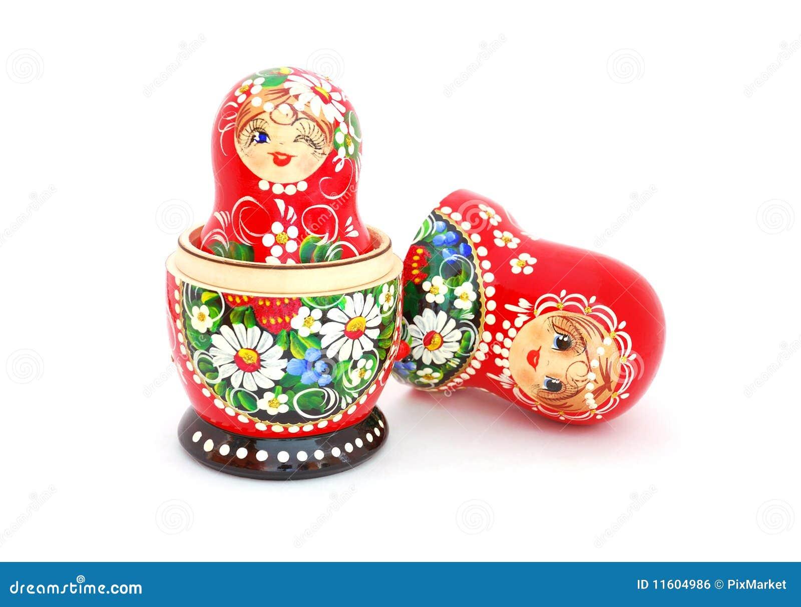 Poup es russes d 39 embo tement image libre de droits image for Poupee russe