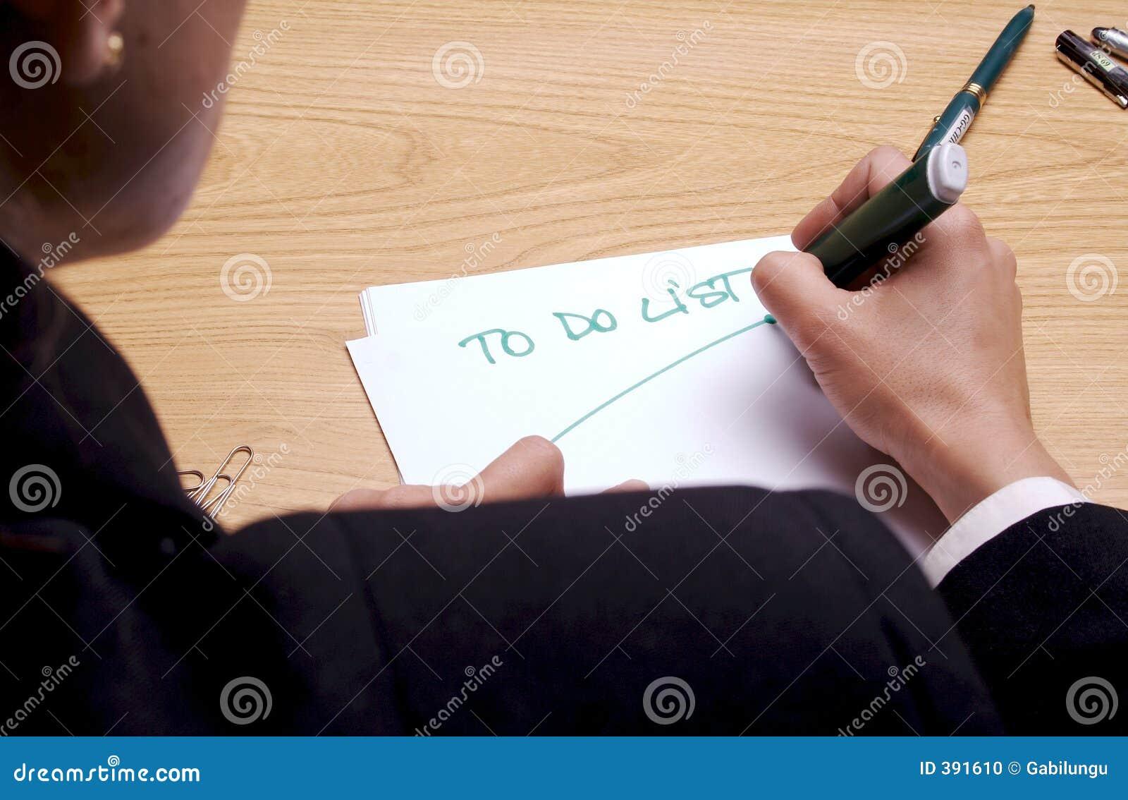 Pour faire la liste 2