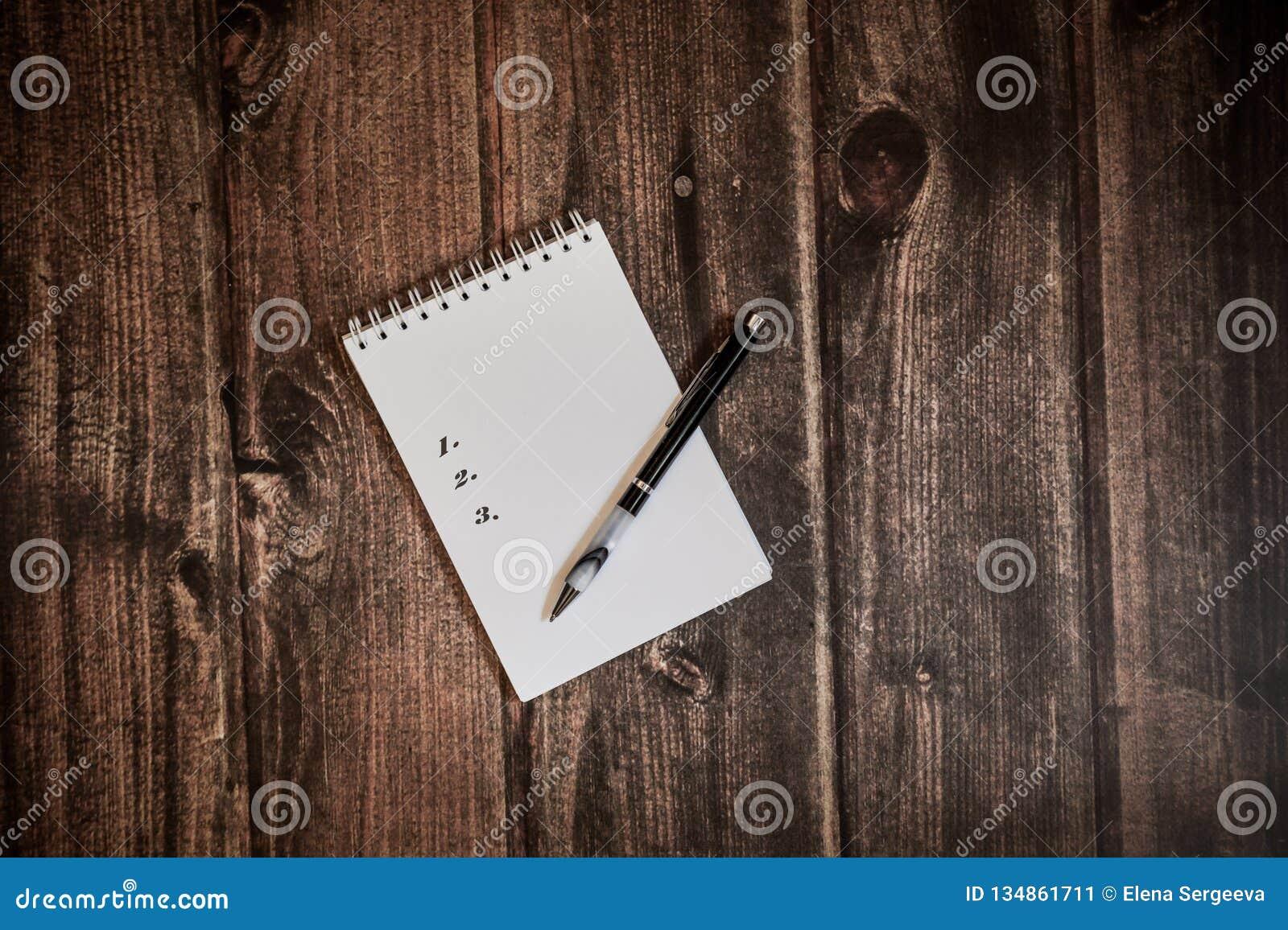 Pour faire la liste dans le carnet