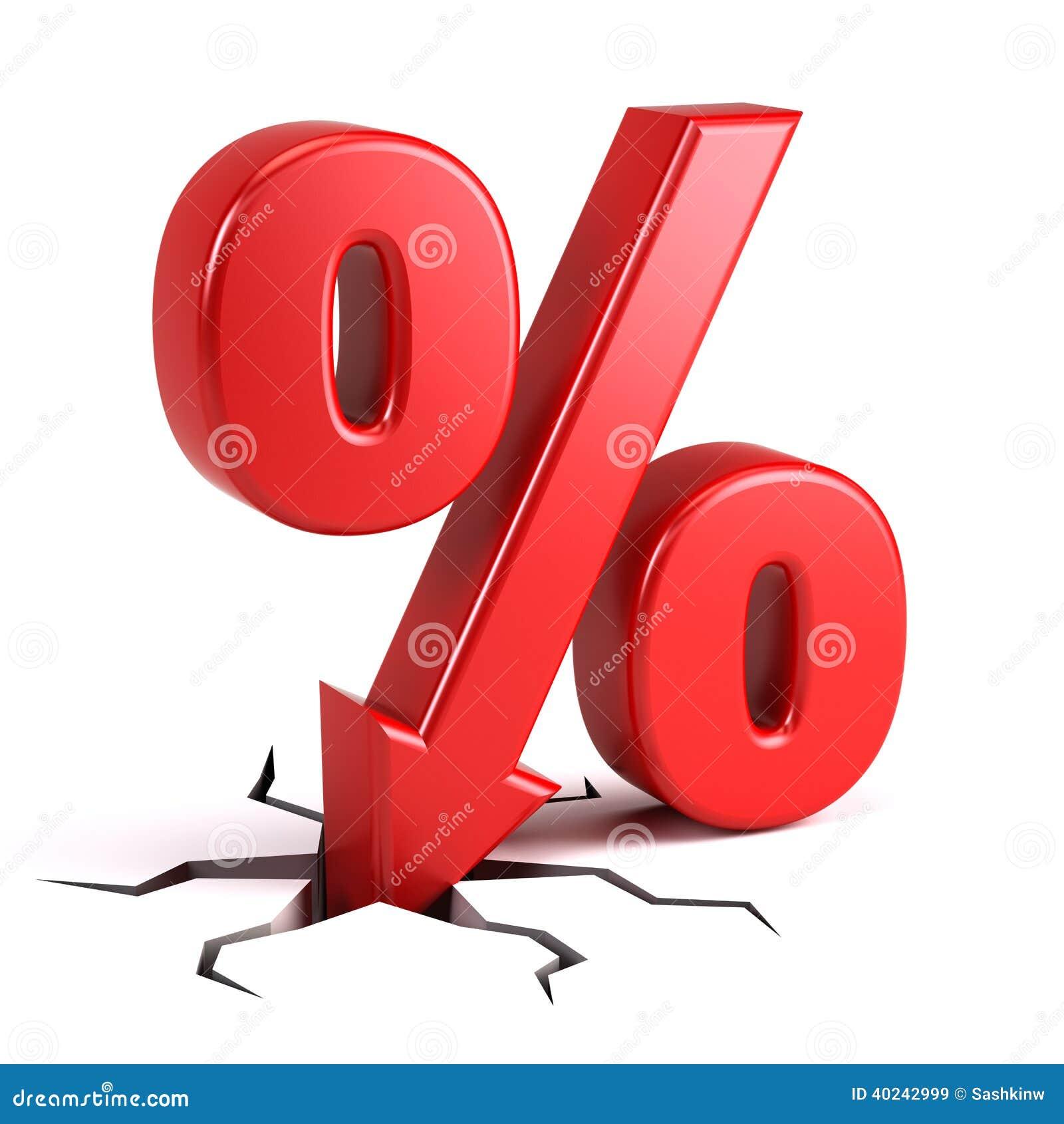 pourcentage de remise illustration stock image 40242999. Black Bedroom Furniture Sets. Home Design Ideas